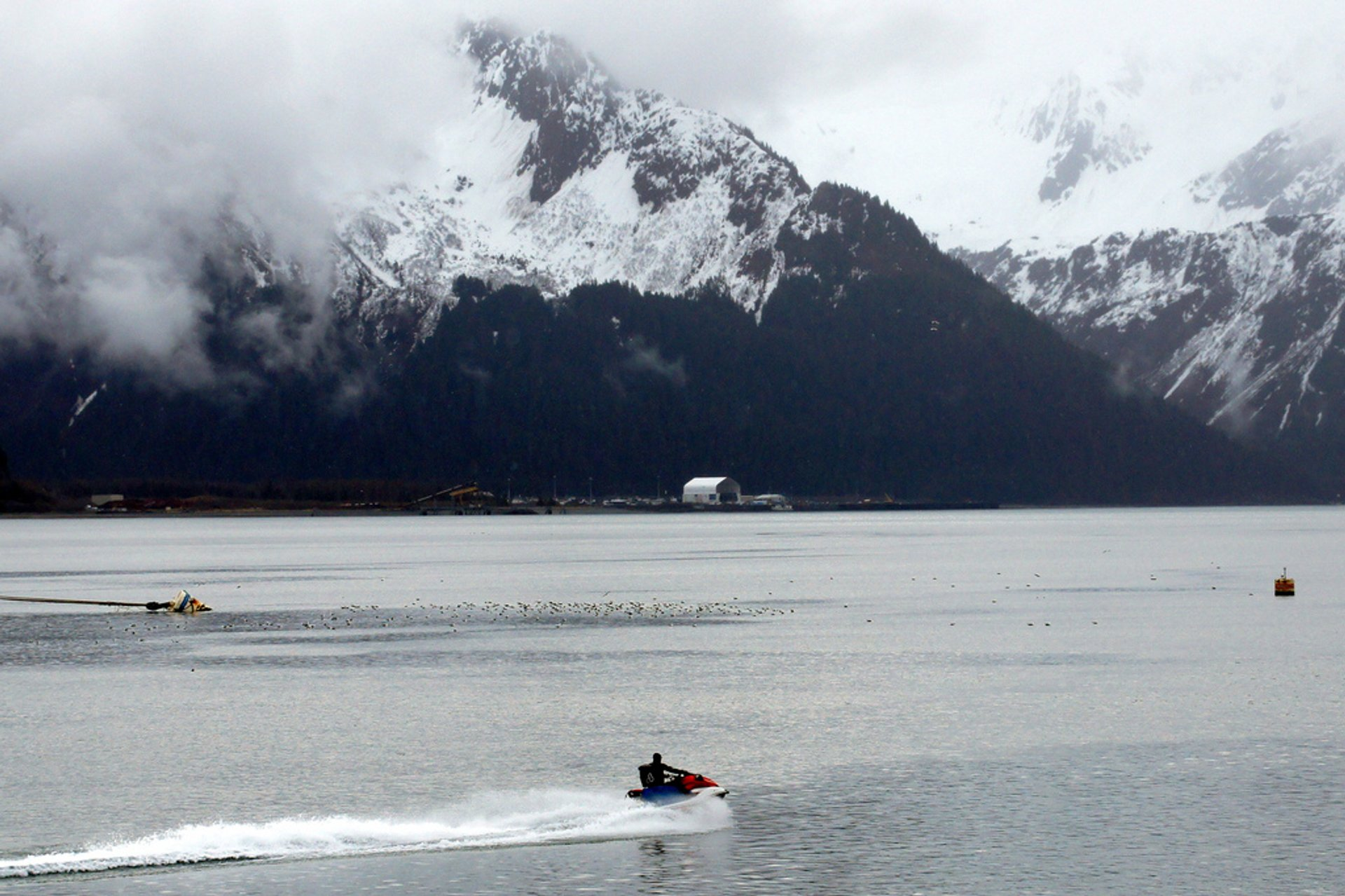 Best time for Glacier Jet Skiing in Alaska 2020