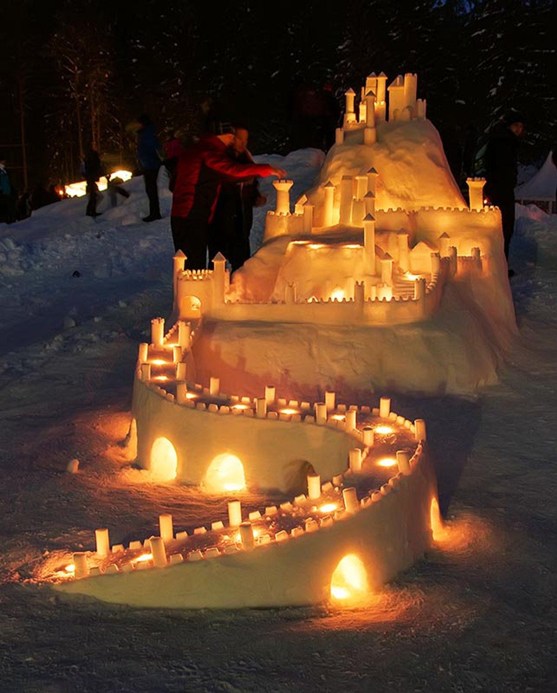 Snow Castle Festival (Gradovi Kralja Matjaža) 2021 In