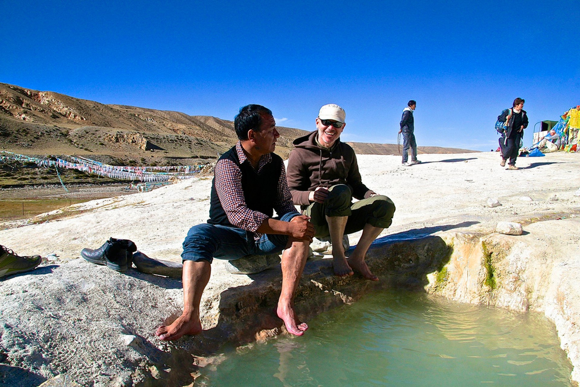 Hot spring near Mt Kailash 2020