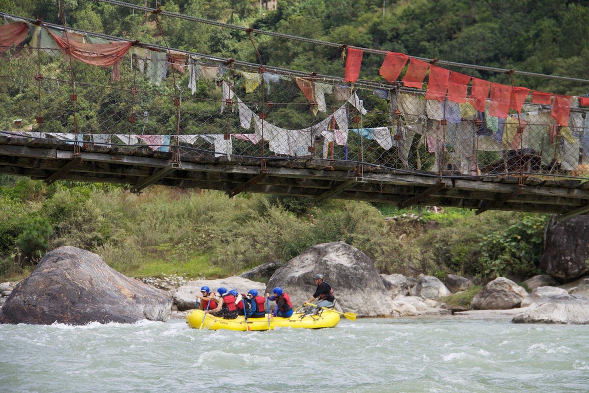 Kayaking and Rafting in Bhutan - Best Season 2019