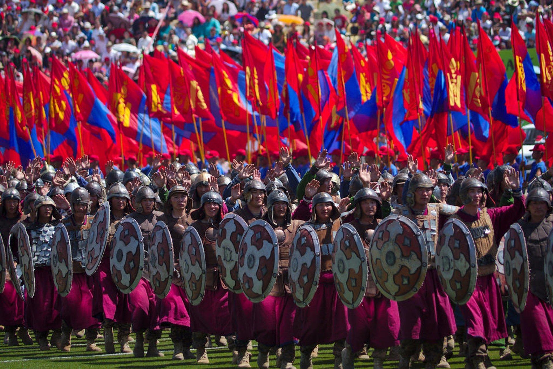 Naadam Festival in Mongolia 2019 - Best Time