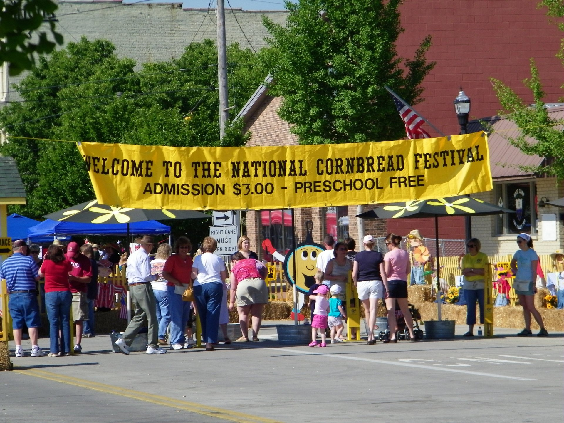 National Cornbread Festival in Tennessee - Best Season 2020