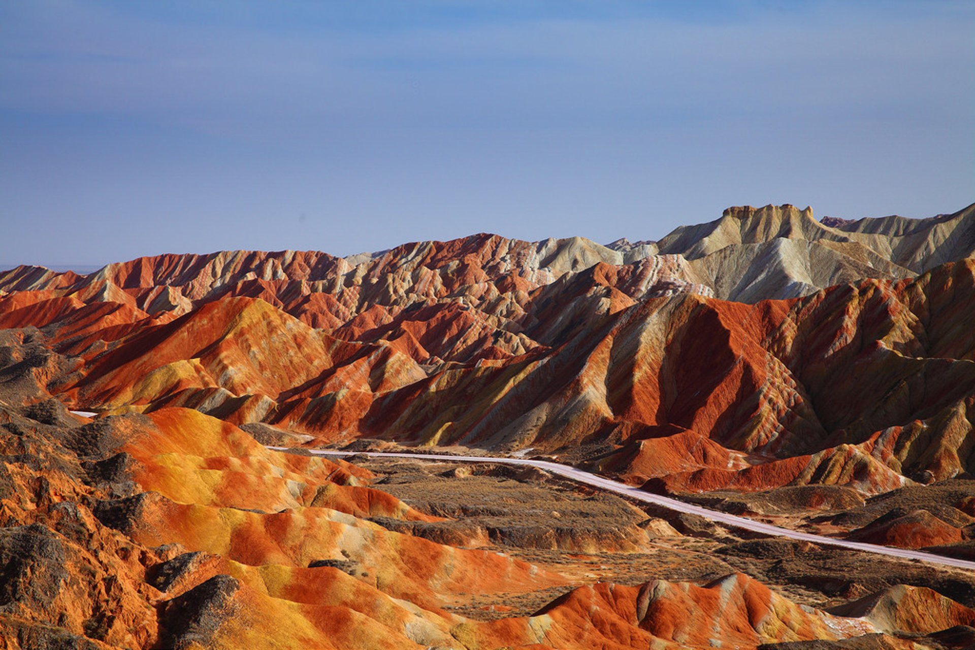 Rainbow Mountains in China - Best Season