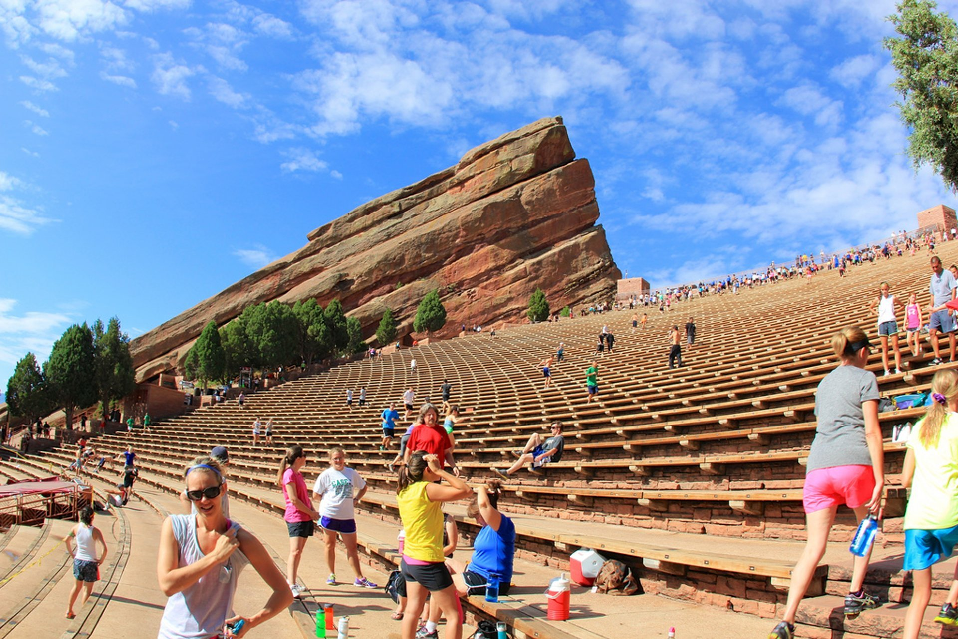 Concerts at Red Rocks Amphitheatre in Colorado 2019 - Best Time