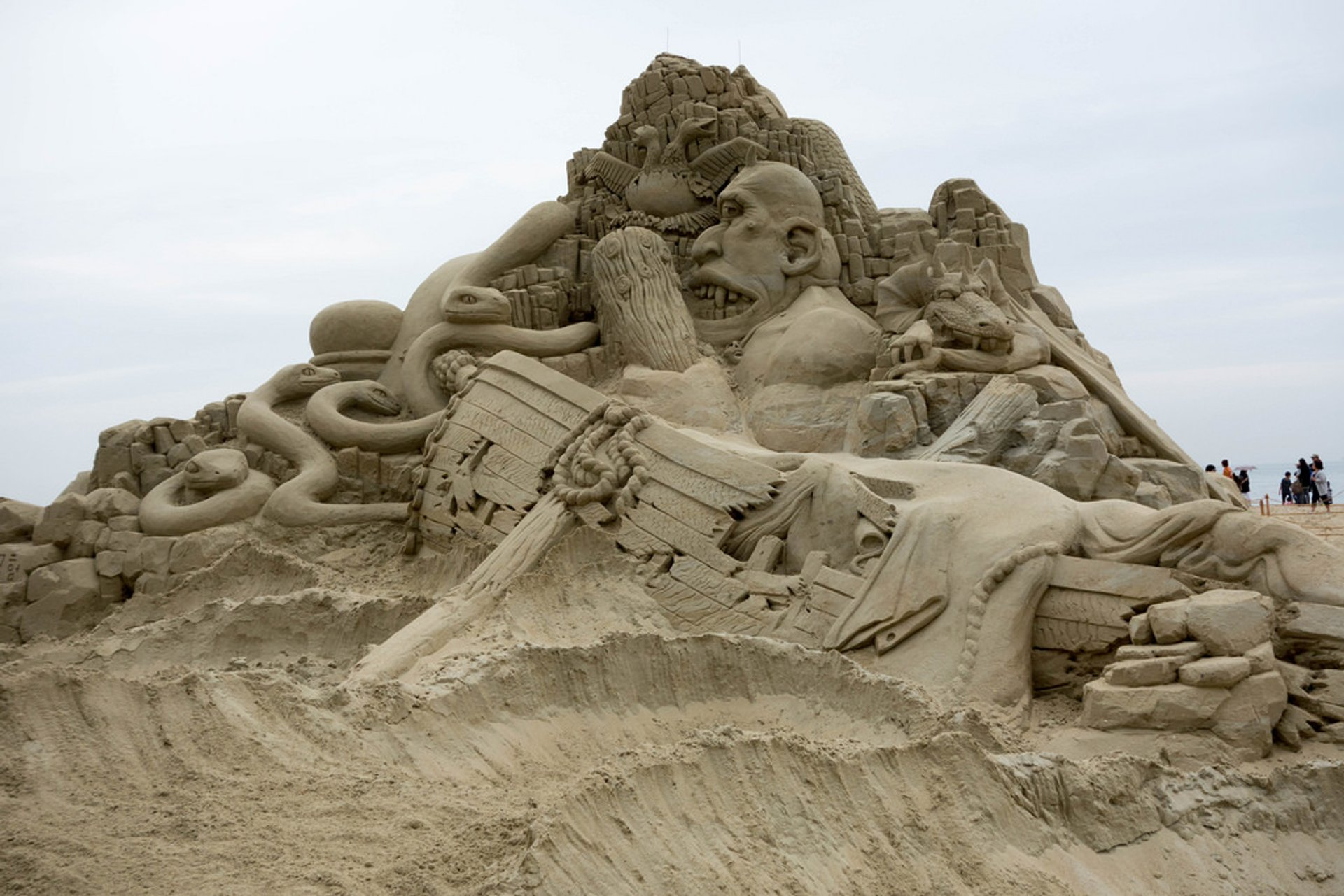 Best time for Haeundae Sand Festival in South Korea 2020