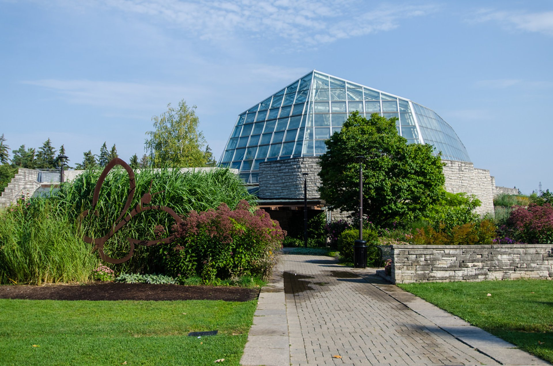Best time to see Butterfly Conservatory in Niagara Falls 2020