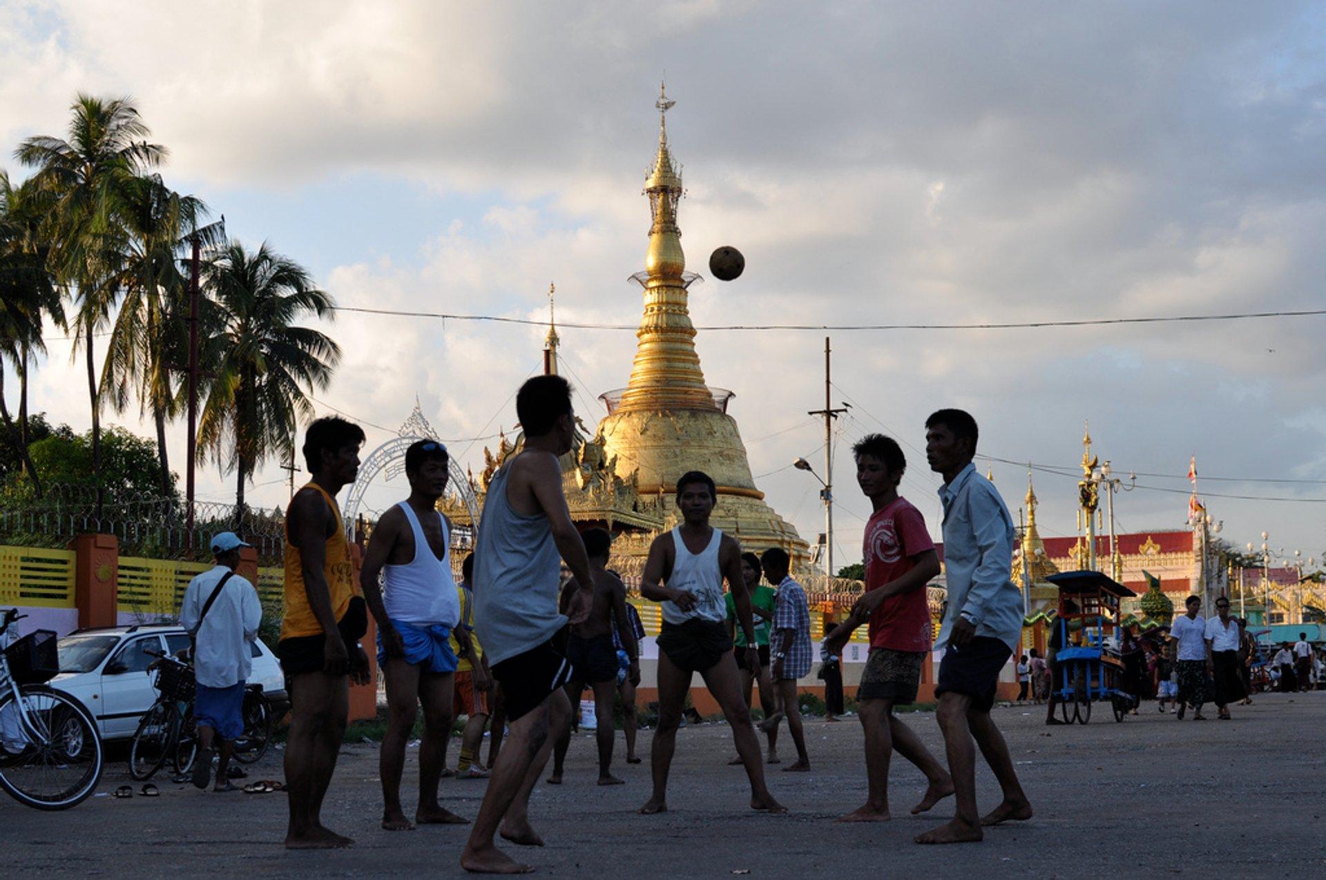 Chinlone in Myanmar - Best Season