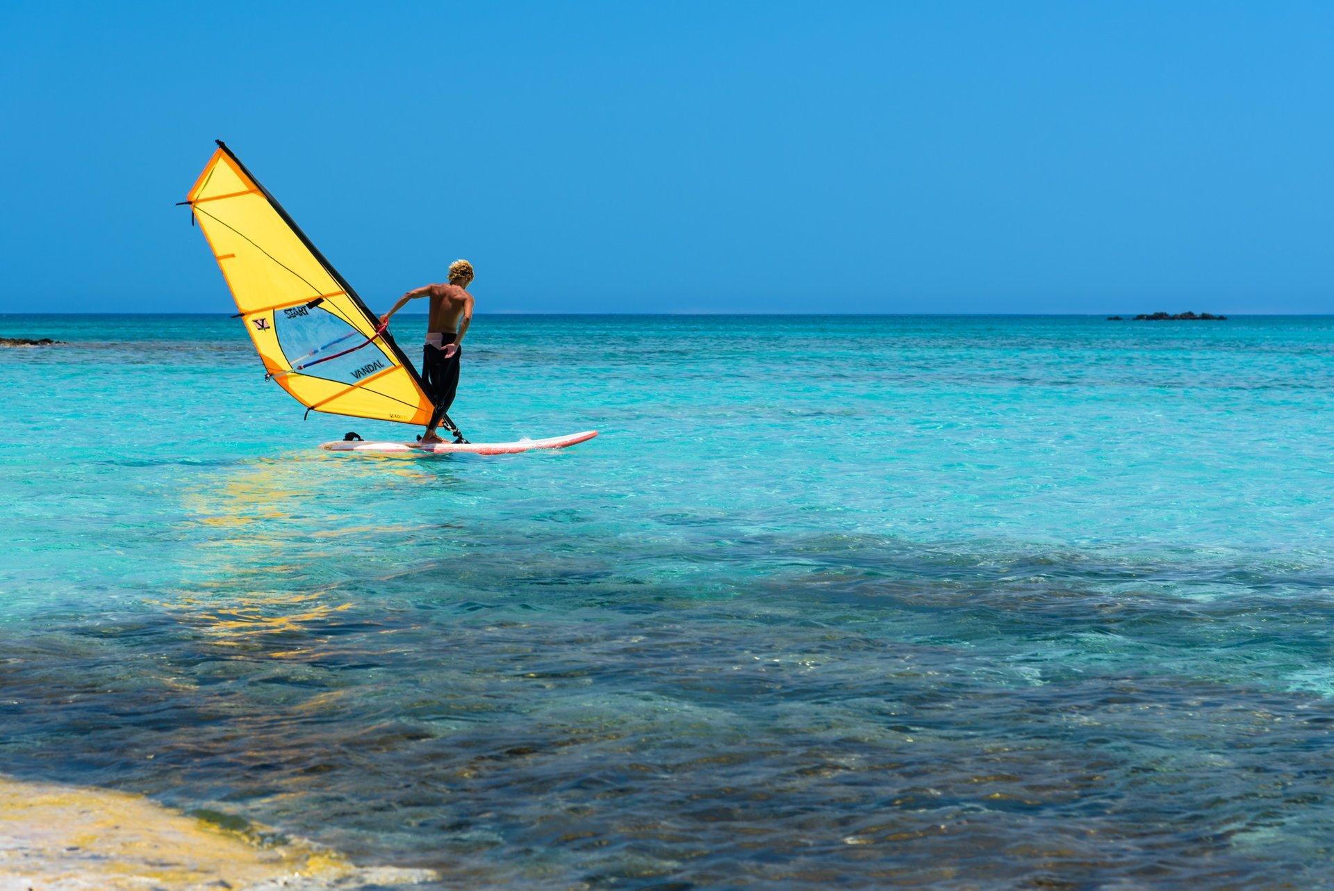 Windsurfing in Crete 2019 - Best Time