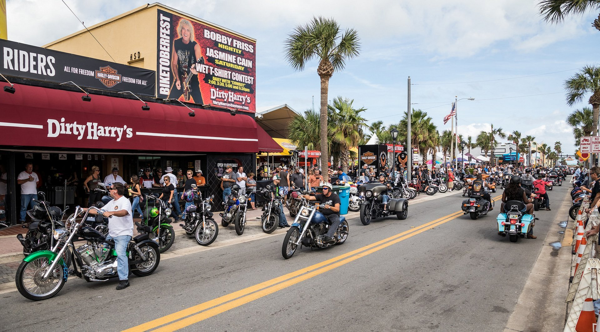 Daytona Beach Bike Week in Florida 2019 - Best Time