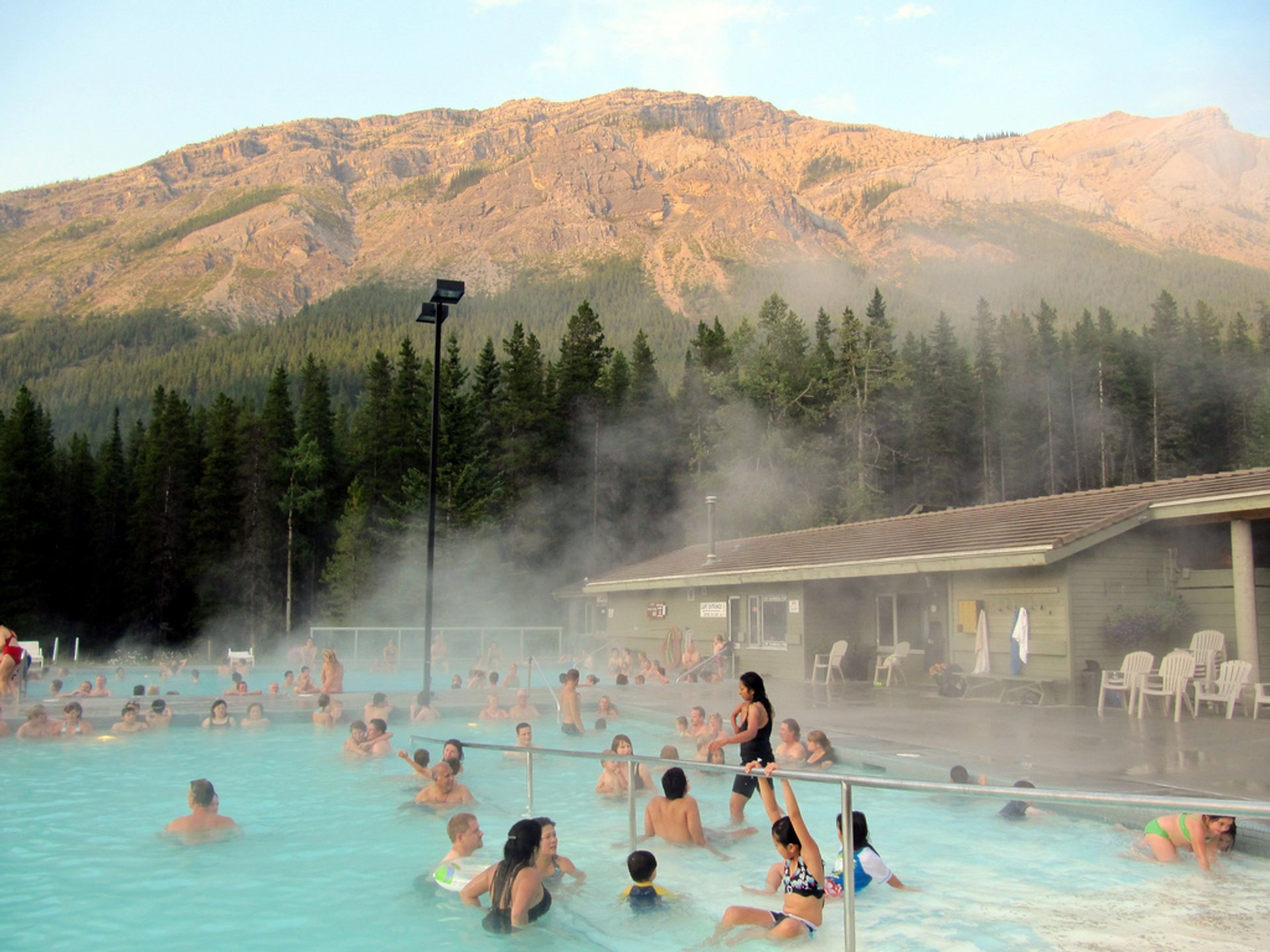 Miette Hot Springs in Banff & Jasper National Parks 2020 - Best Time
