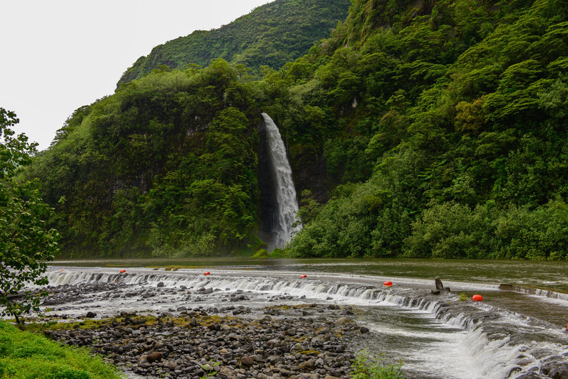 Best time for Waterfalls After Rain in Tahiti 2019
