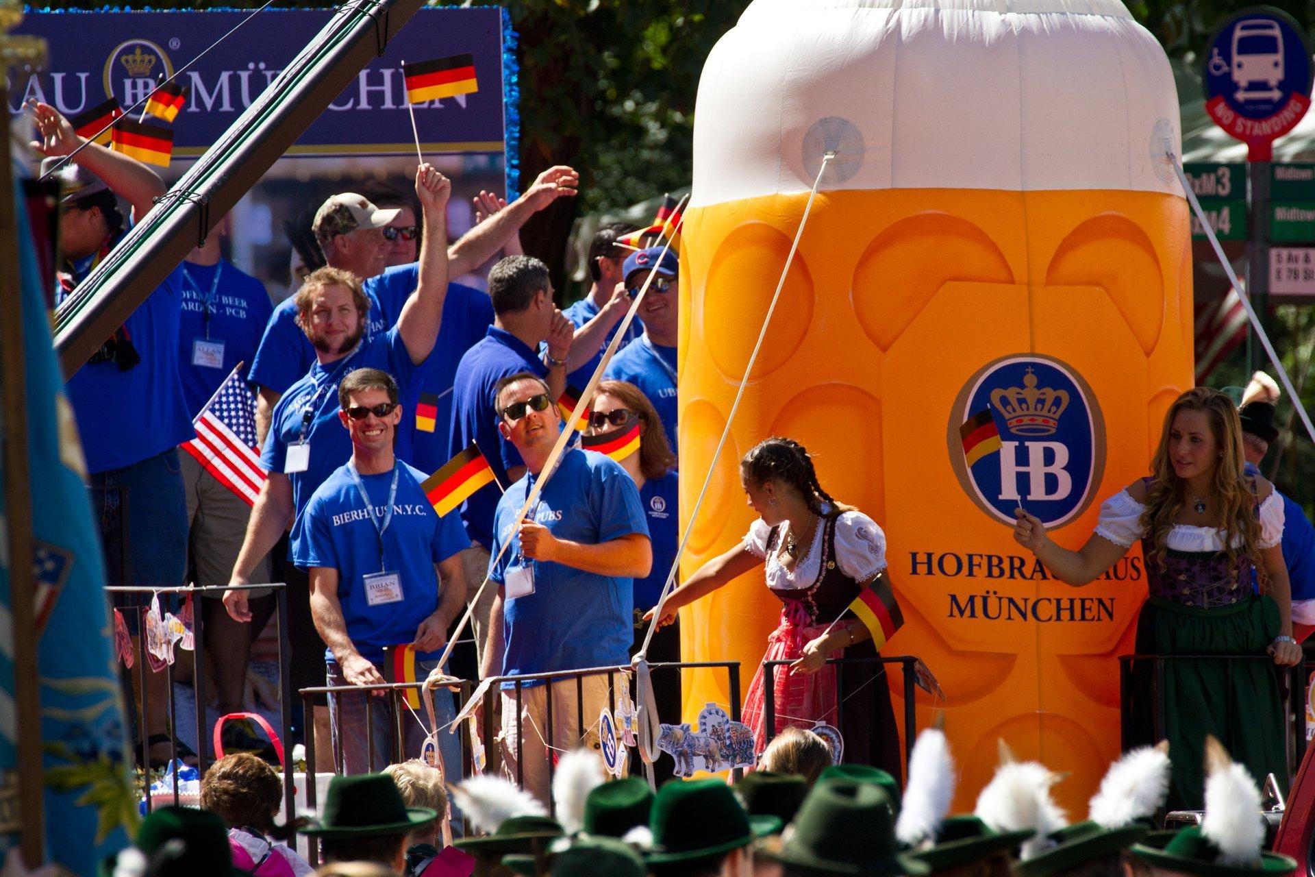 Das Bier at the German-American Steuben Parade 2020