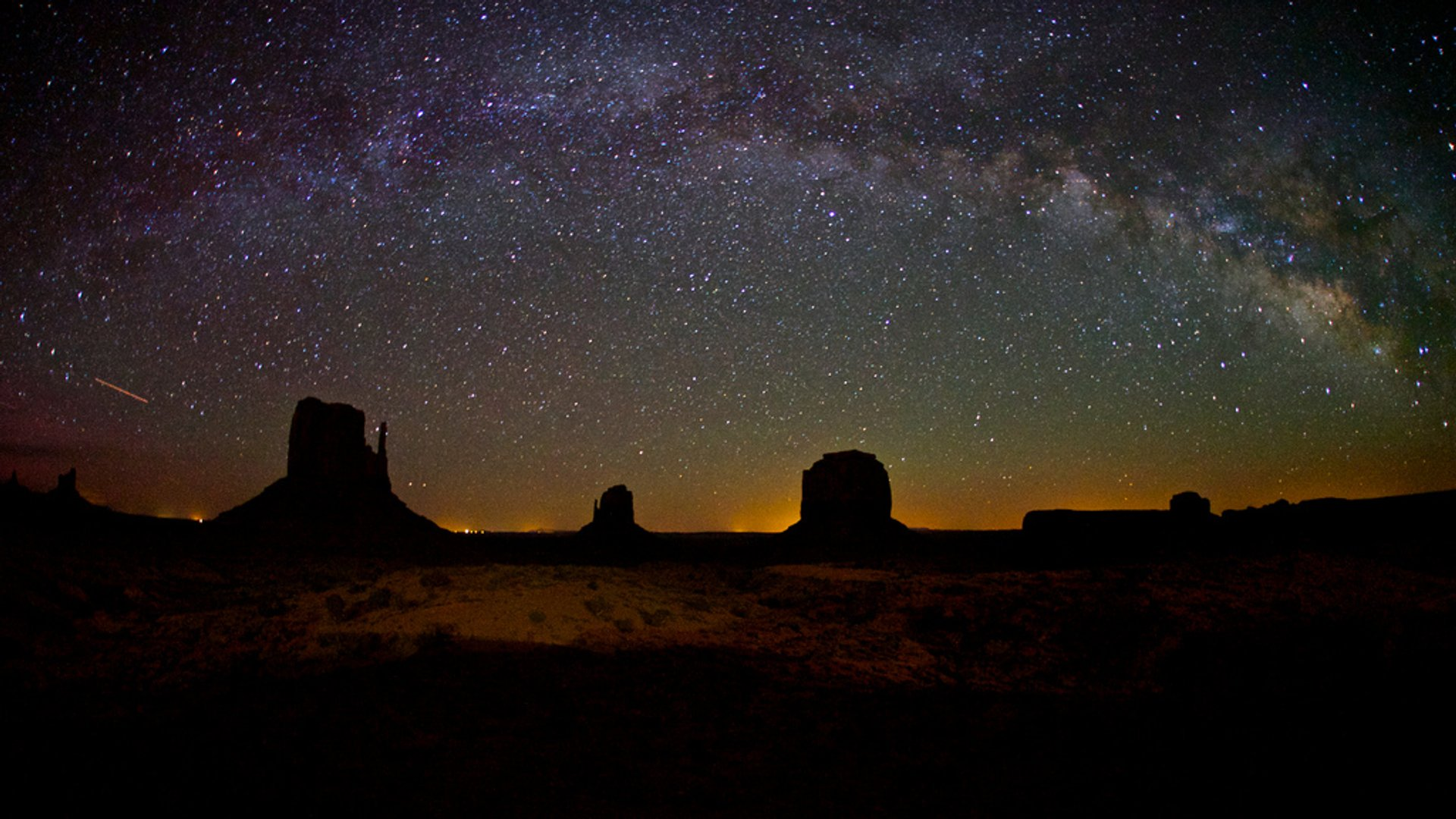 Milky Way, Monument Valley, Utah