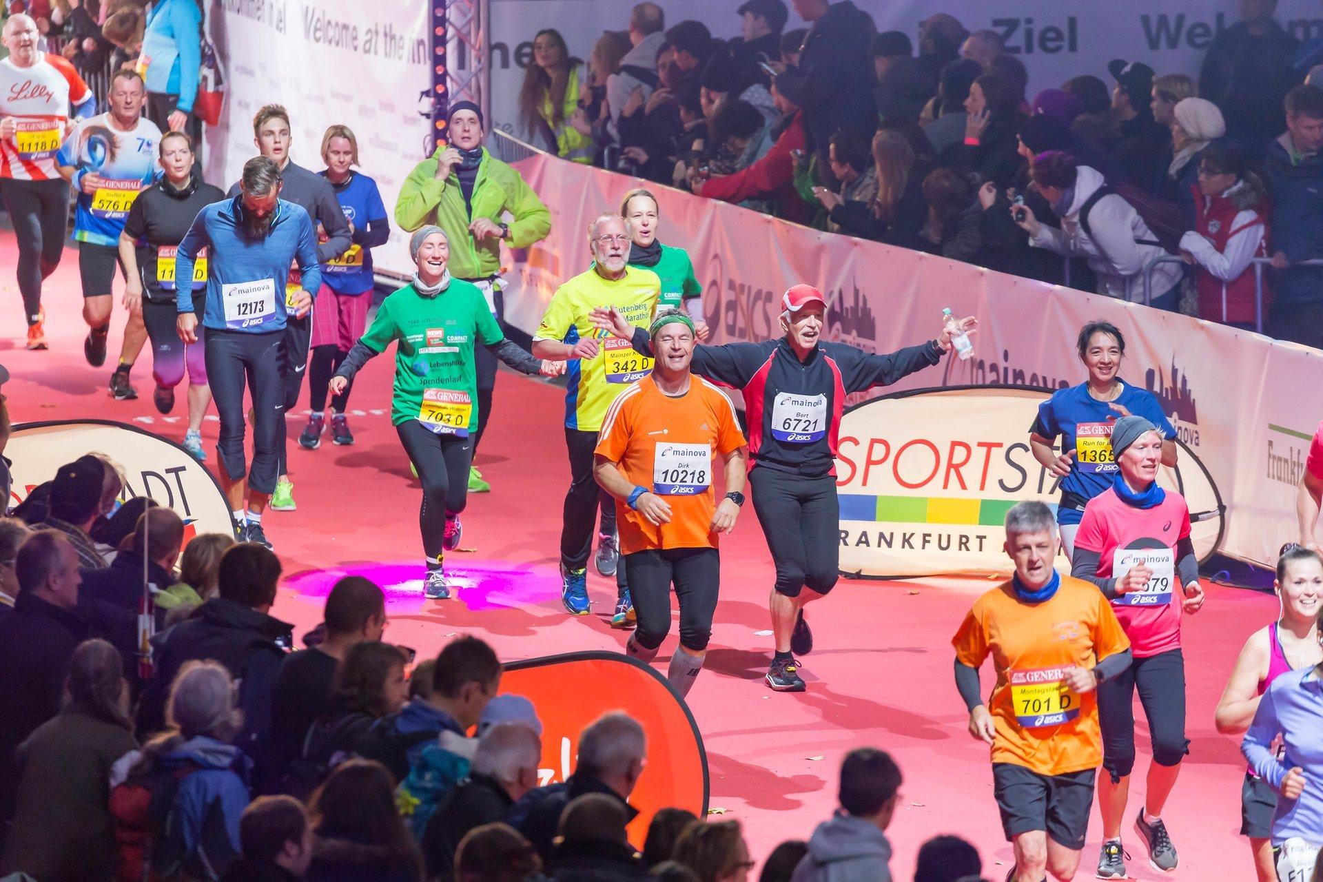 Best time for Frankfurt Marathon 2020