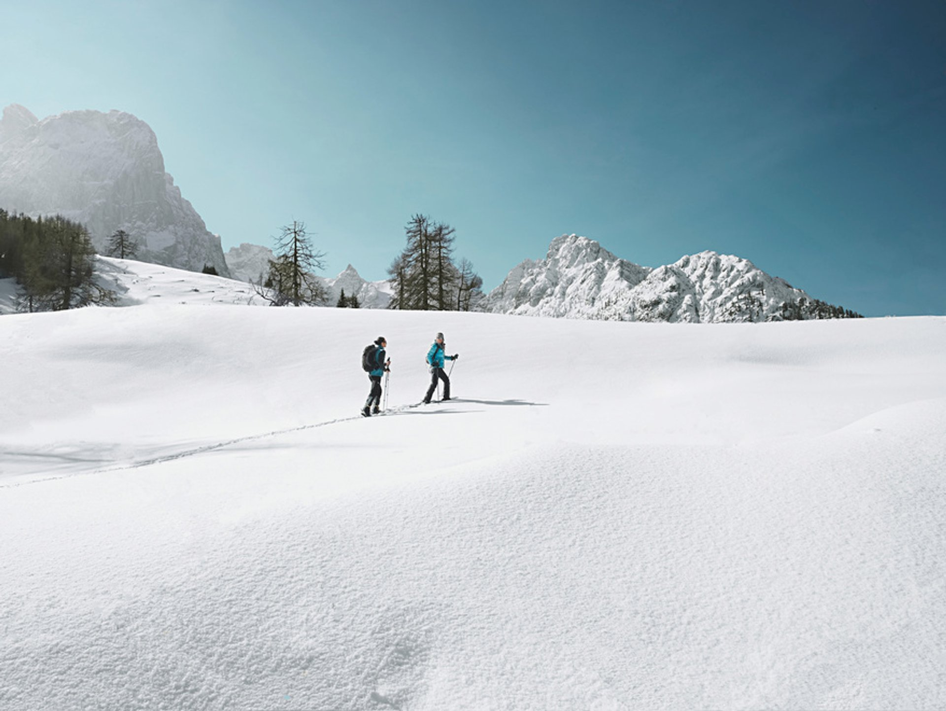 Snow hiking/South of Lienz/East Tyrol 2020