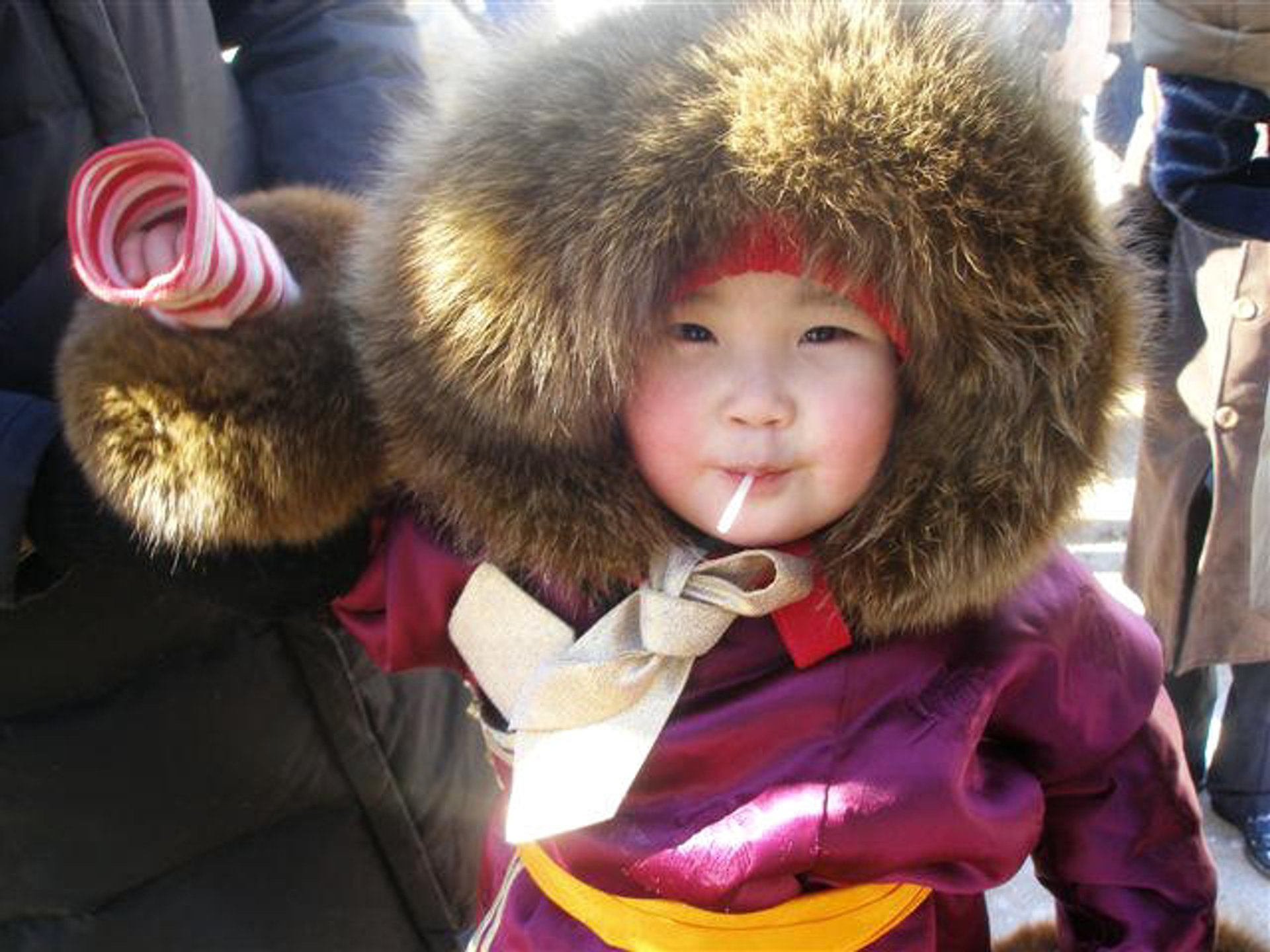 Сute Mongolian baby 2020