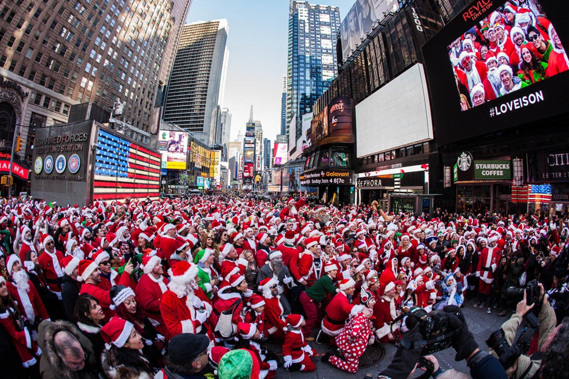SantaCon in New York 2020 - Best Time