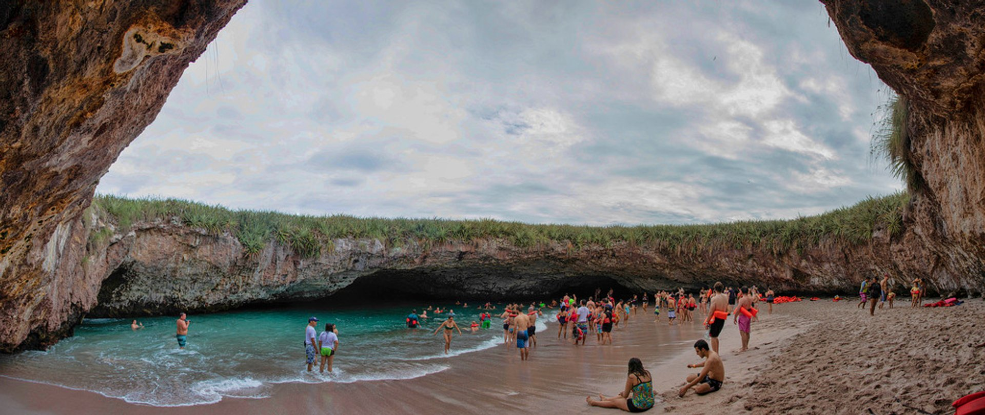 Best time to see The Hidden Beach (Playa Del Amor) in Mexico 2019