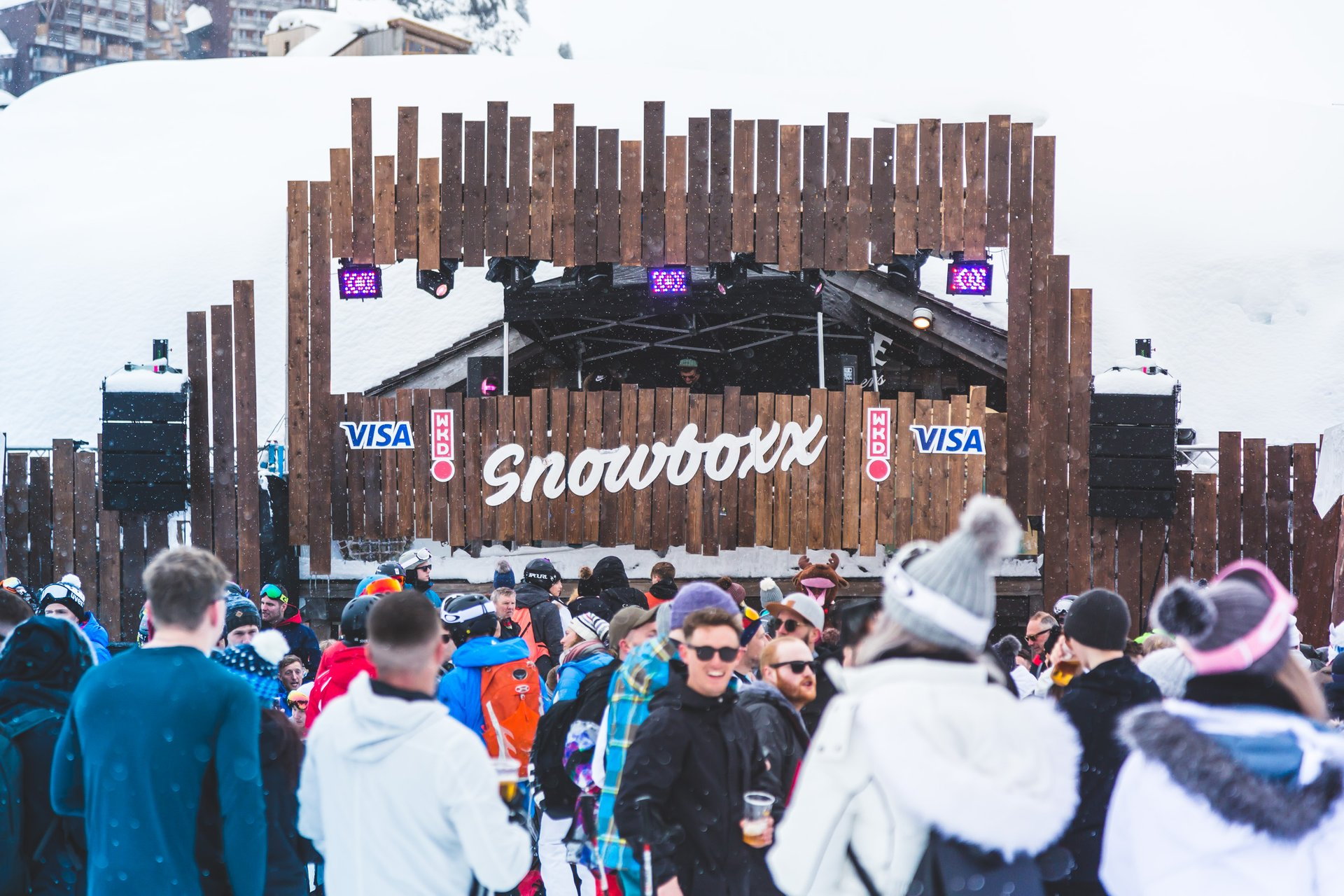 Best time to see Snowboxx in France 2020