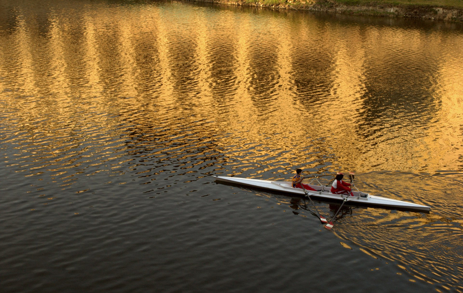 Rowing in Florence 2019 - Best Time