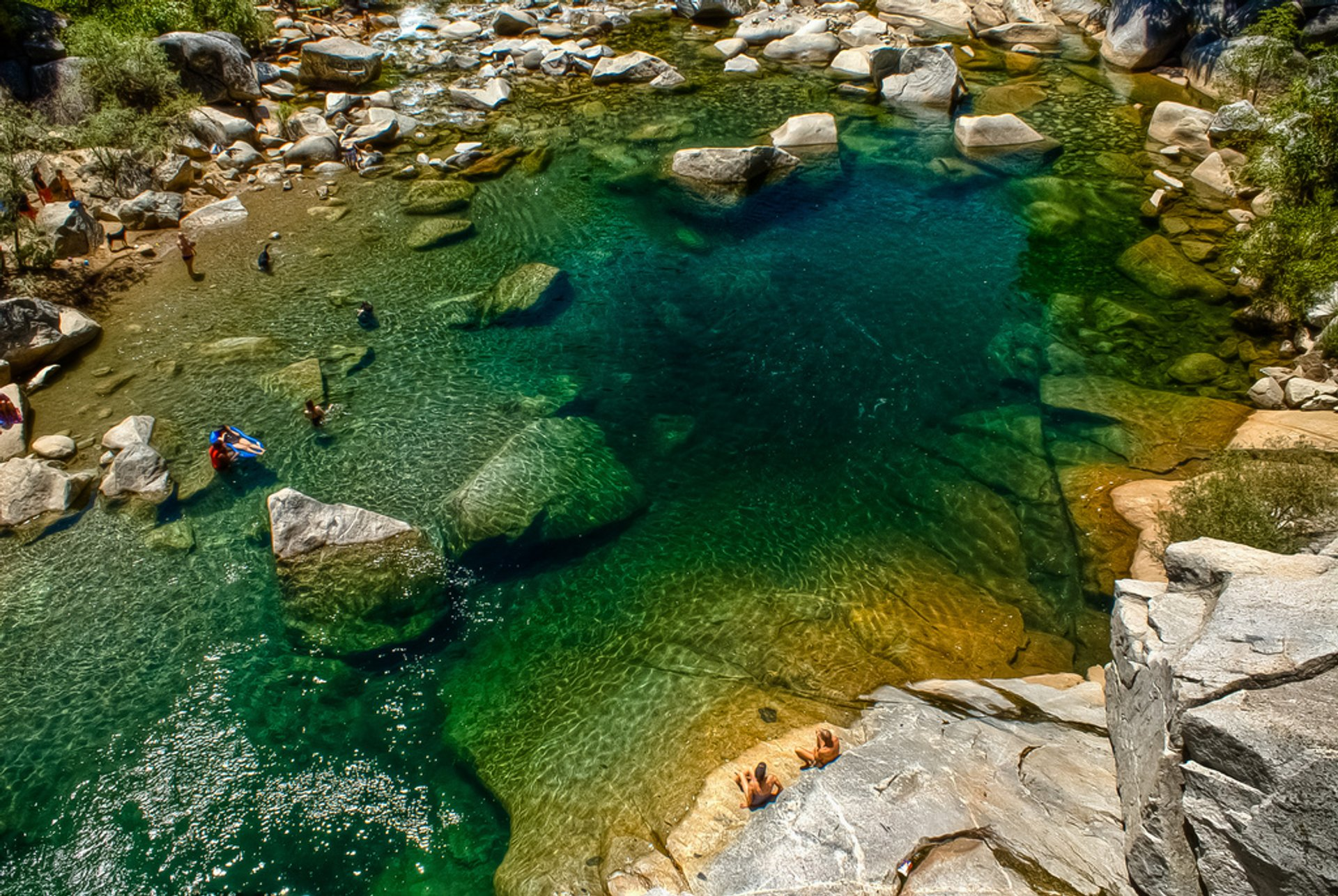 South Yuba River Swimming Holes in California - Best Time