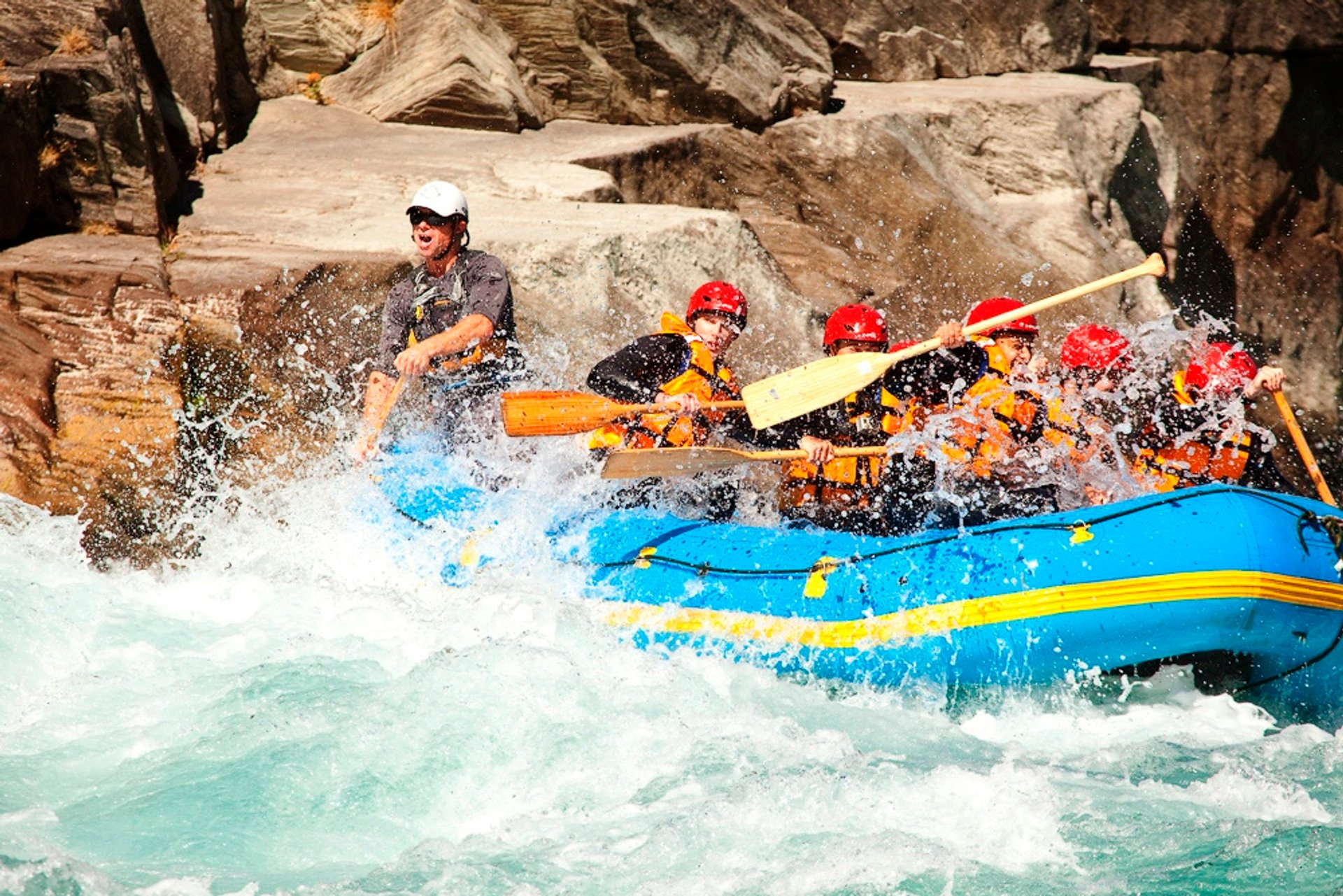 White Water Rafting in New Zealand - Best Season