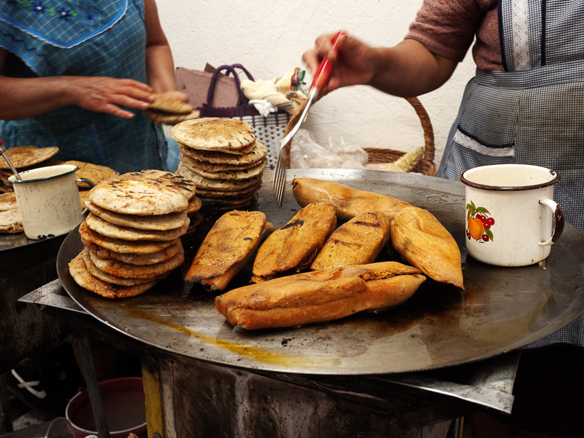 Tamales in Tequisquiapan, Mexico 2019