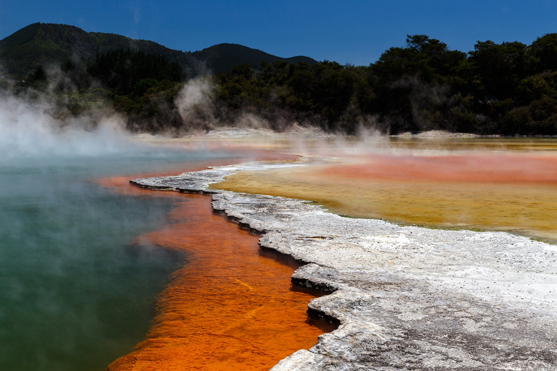 Wai-O-Tapu Thermal Wonderland in New Zealand 2019 - Best Time