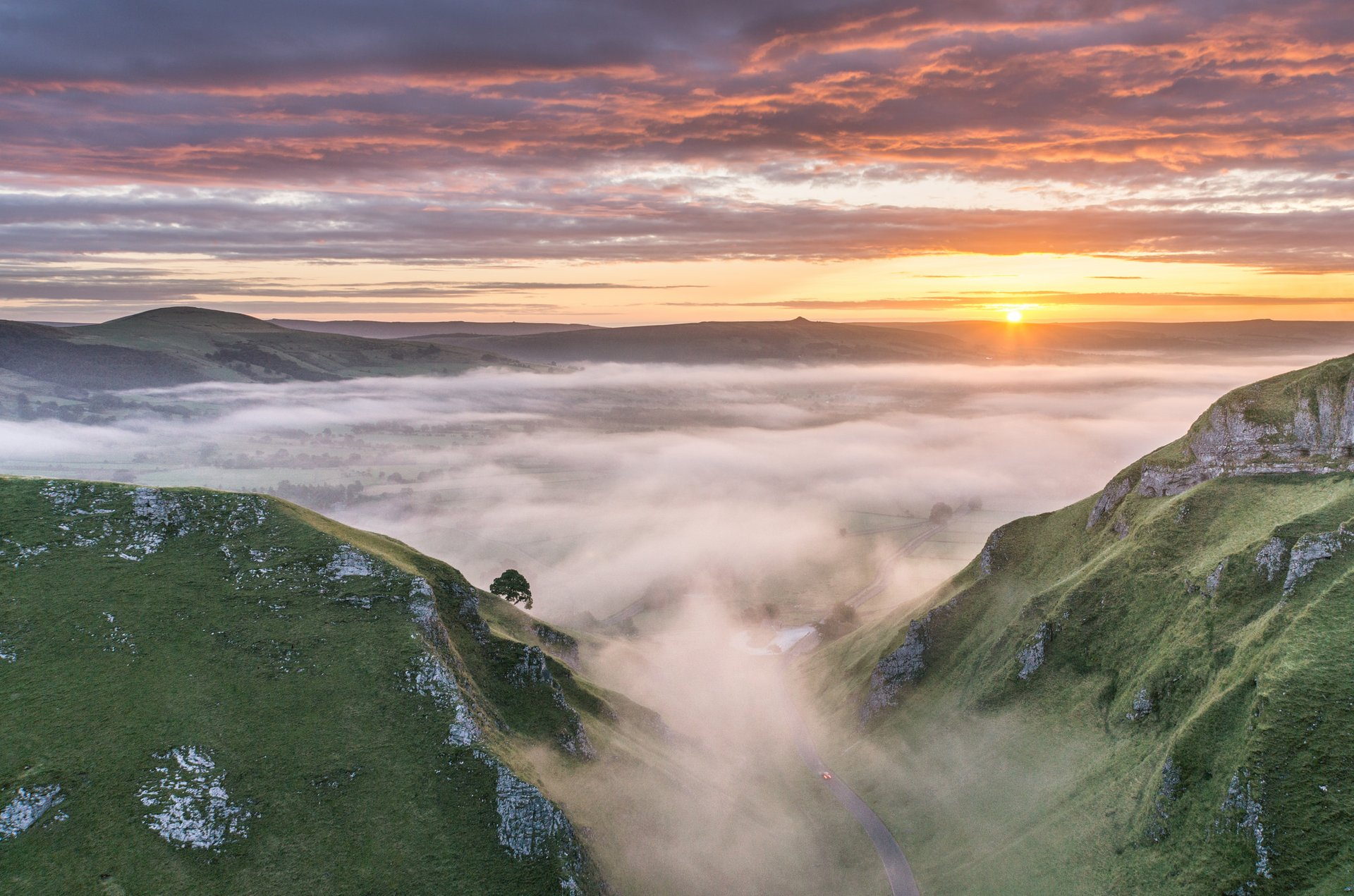 Winnats Pass Sunrise 2020