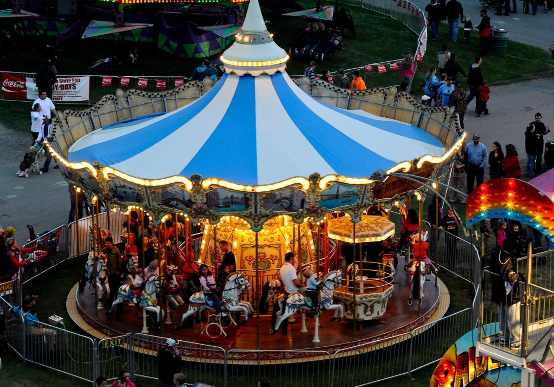 Best time for Alaska State Fair in Alaska 2020