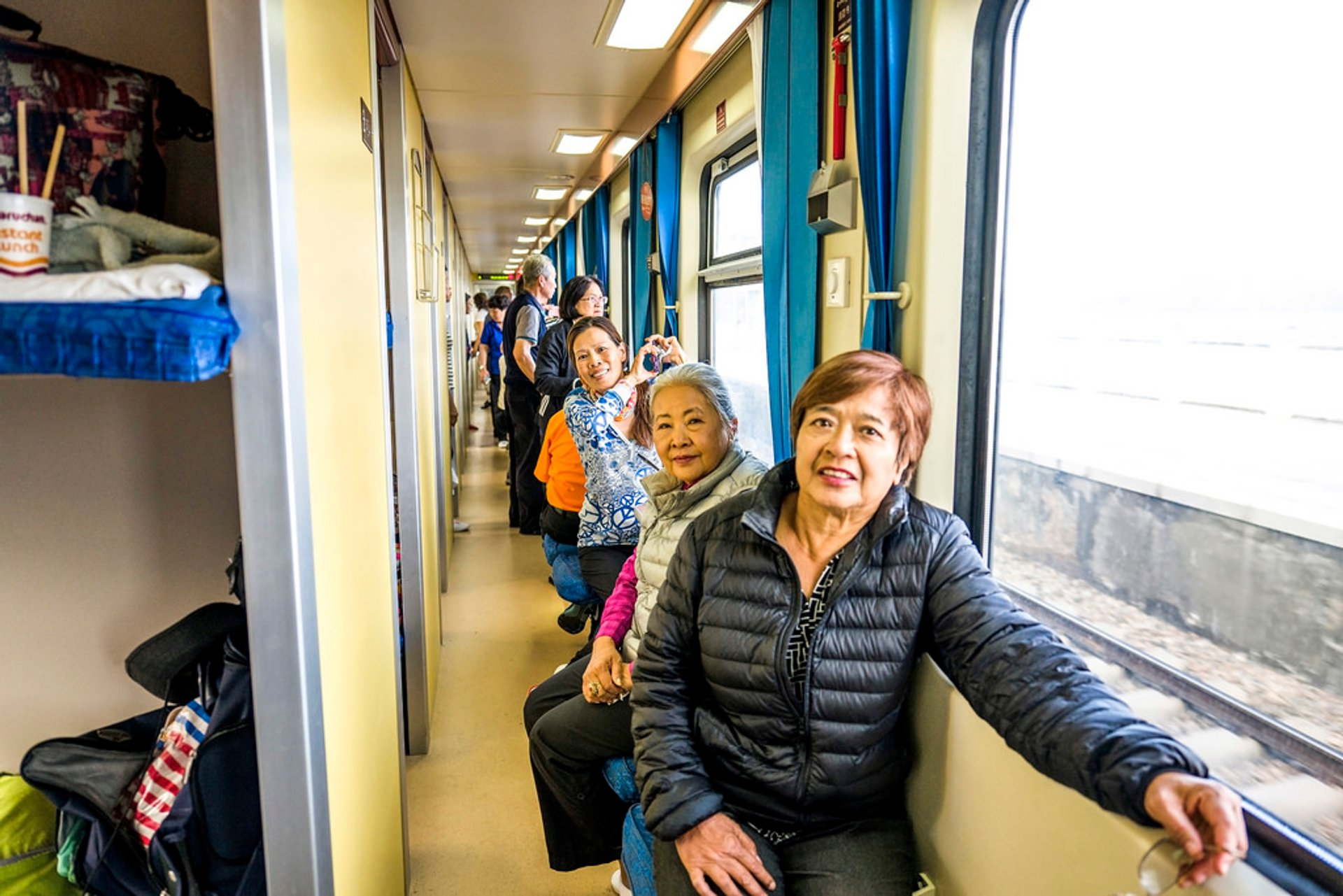 Train ride from Xining to Lhasa, Tibet, China