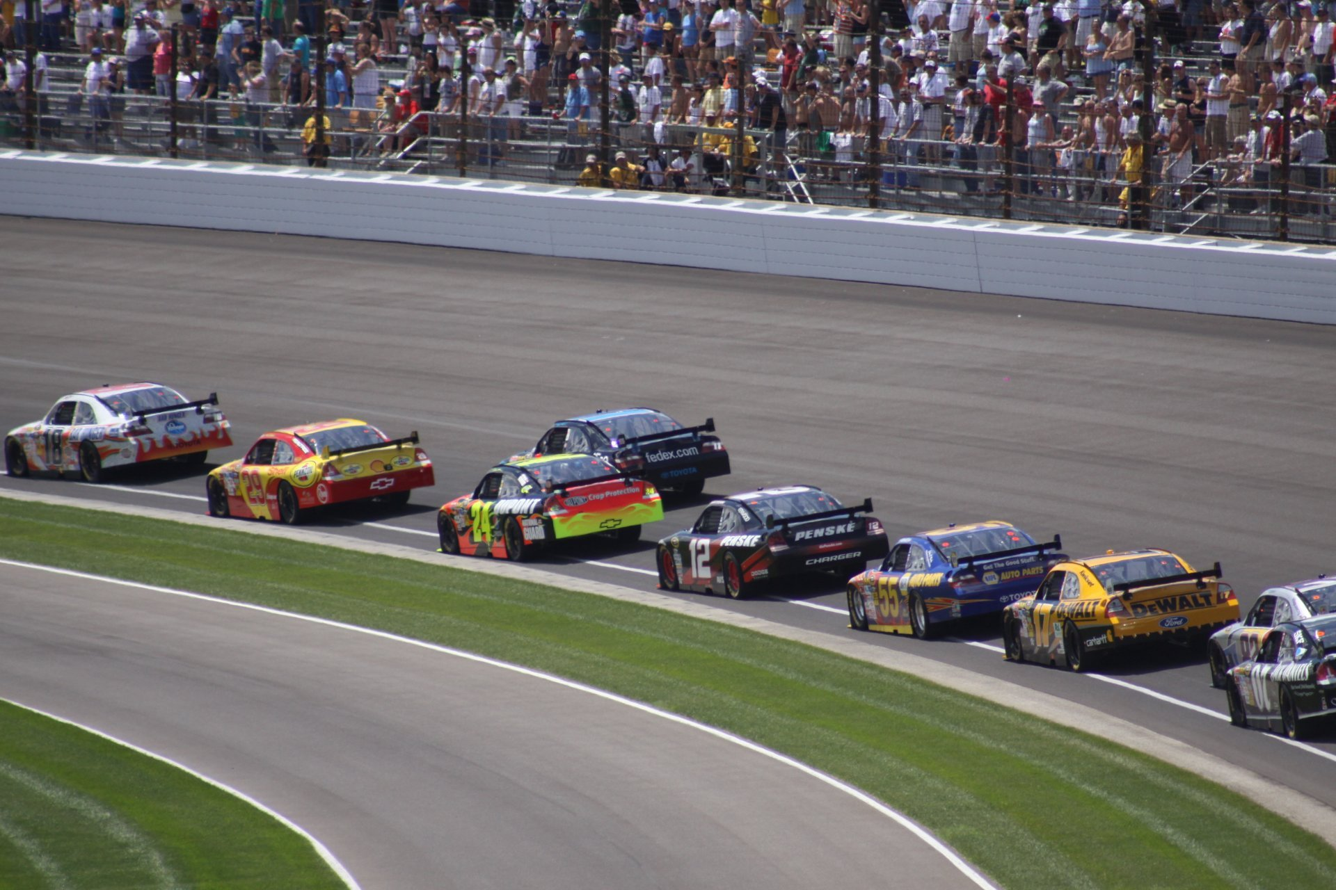 Best time for Brickyard 400 in Midwest 2020
