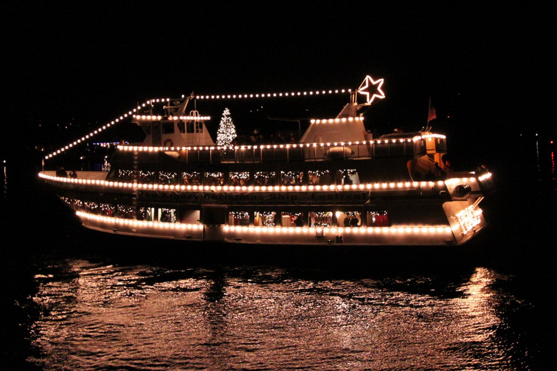 Christmas Ship Festival in Seattle - Best Season