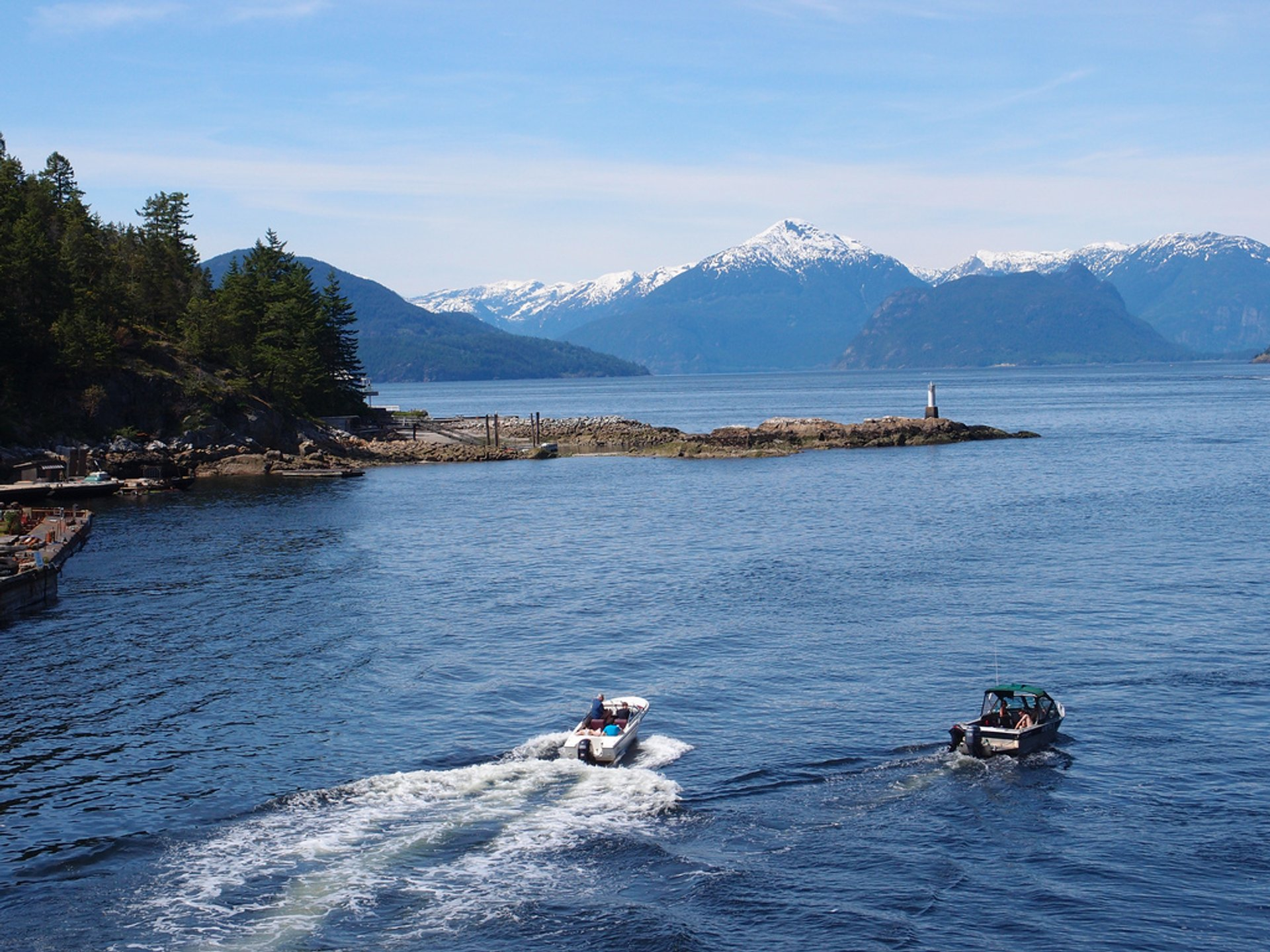 Best time for Boating in Vancouver 2019