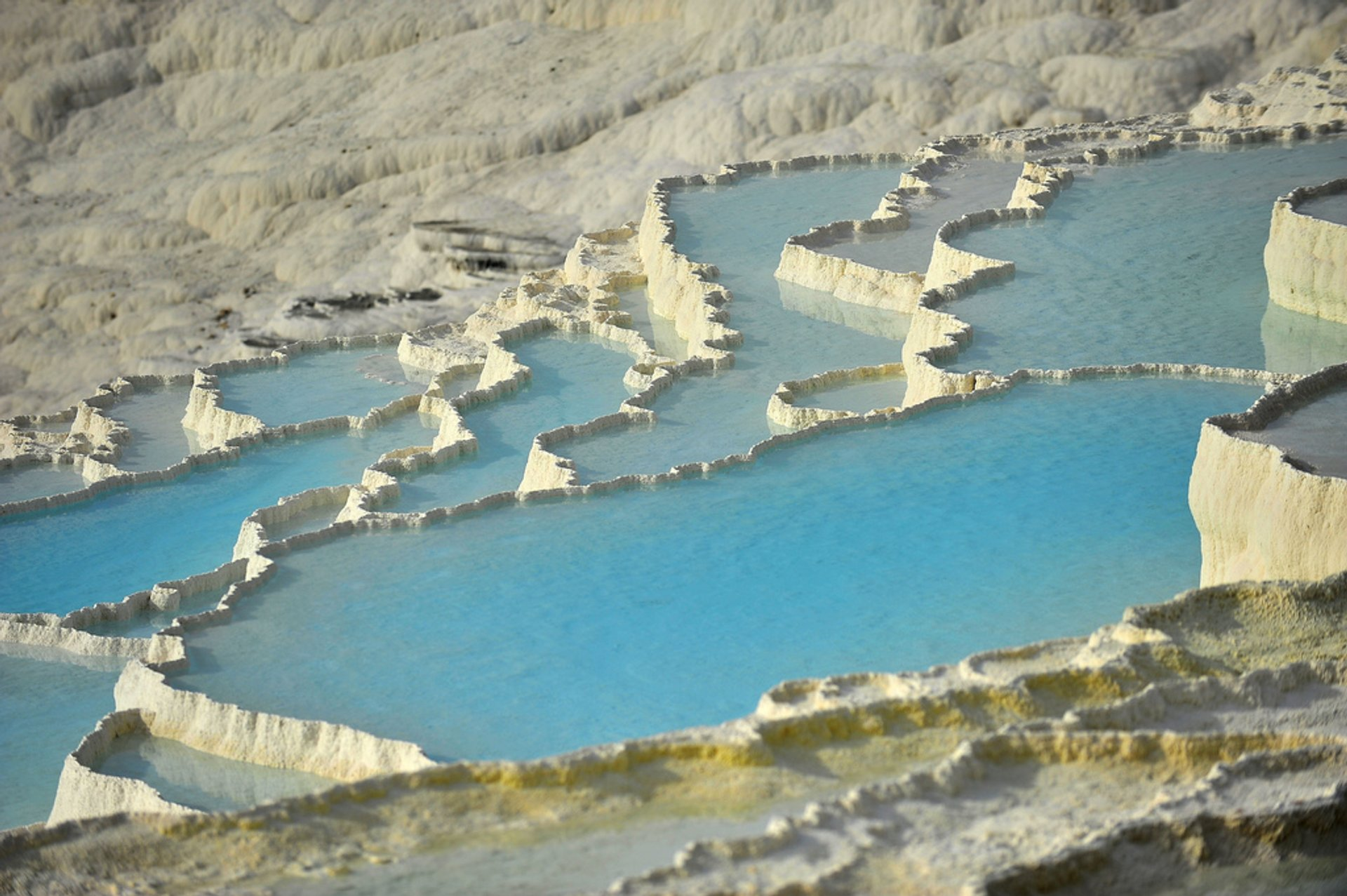 Pamukkale (Hierapolis) Thermal Pools in Turkey 2020 - Best Time