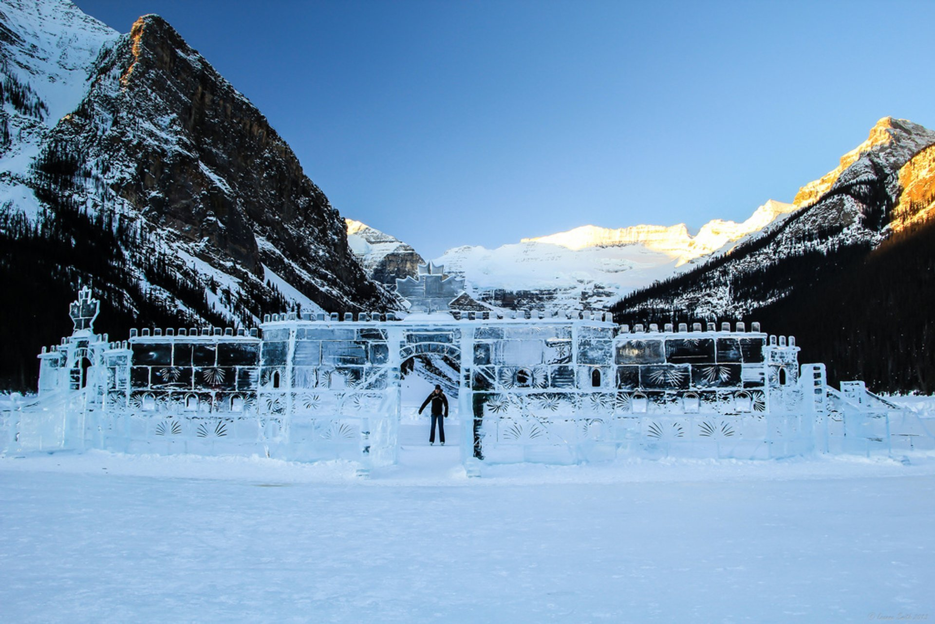 Best time to see Skating on Lake Louise in Banff & Jasper National Parks 2019