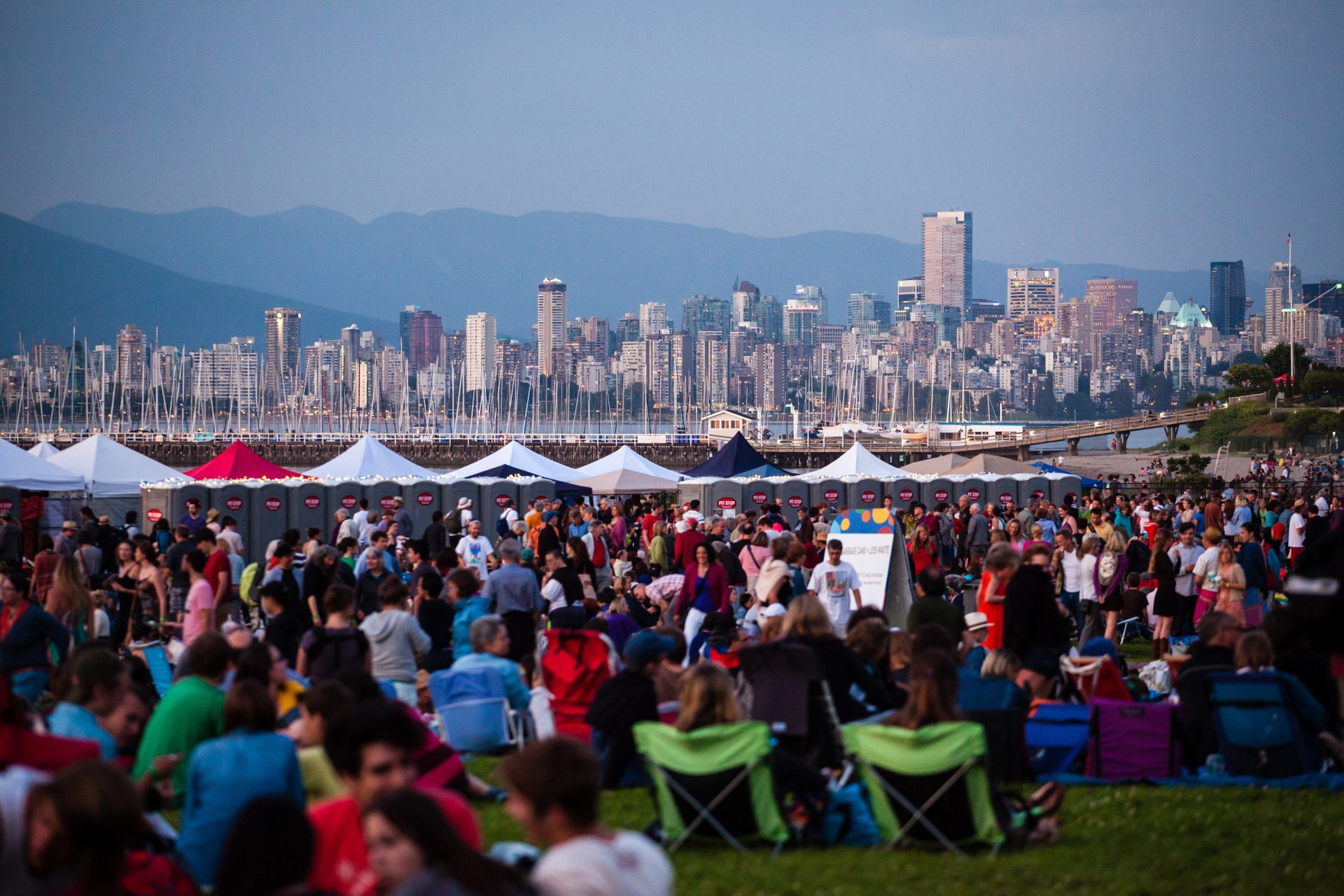 Best time to see Vancouver Folk Music Festival 2020