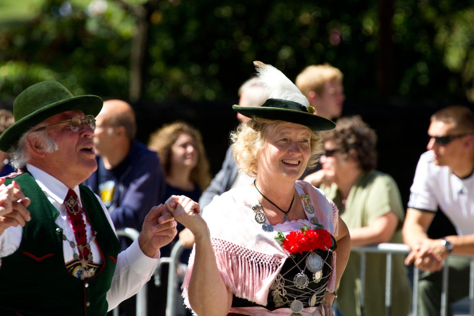 Herr und Frau at the German-American Steuben Parade 2020