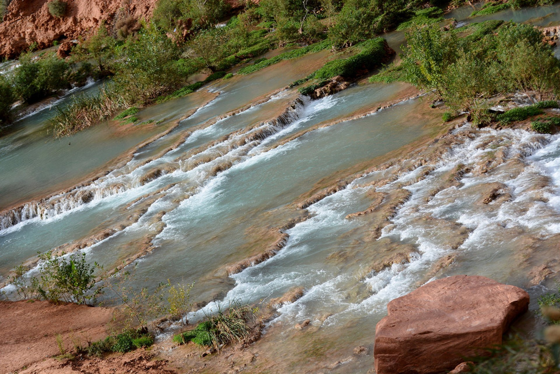 Best time for Havasu & Navajo Falls 2020