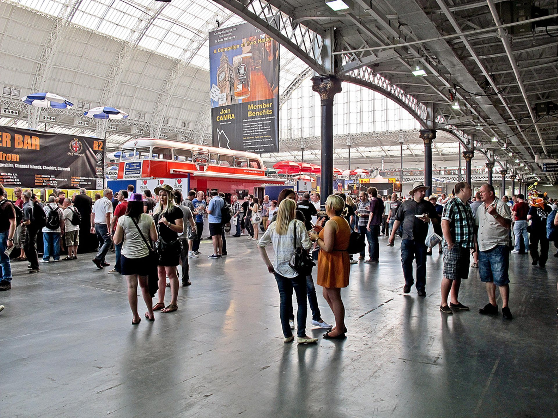 Great British Beer Festival in London - Best Season 2020