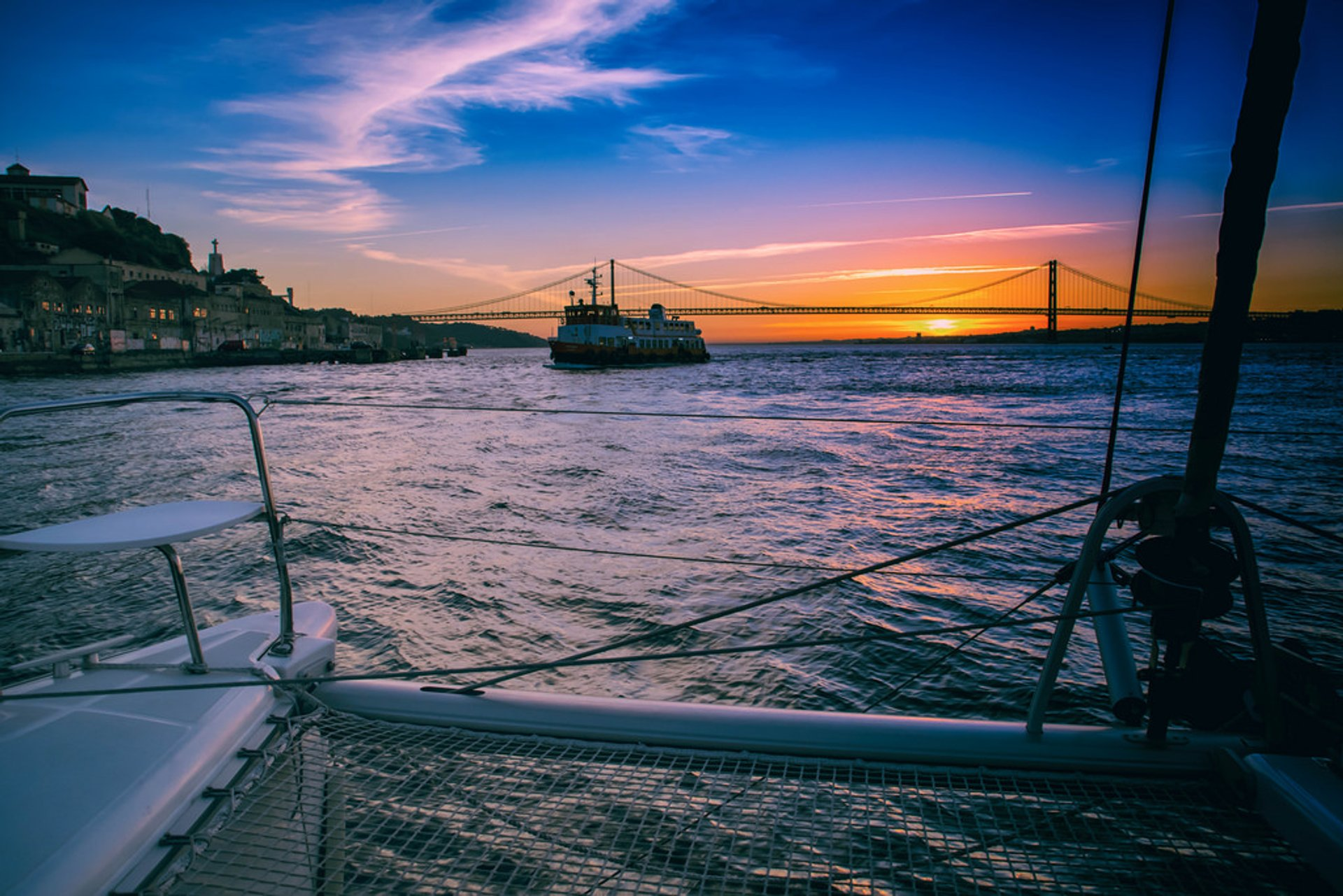 Tagus River Sunset Cruise in Lisbon 2019 - Best Time