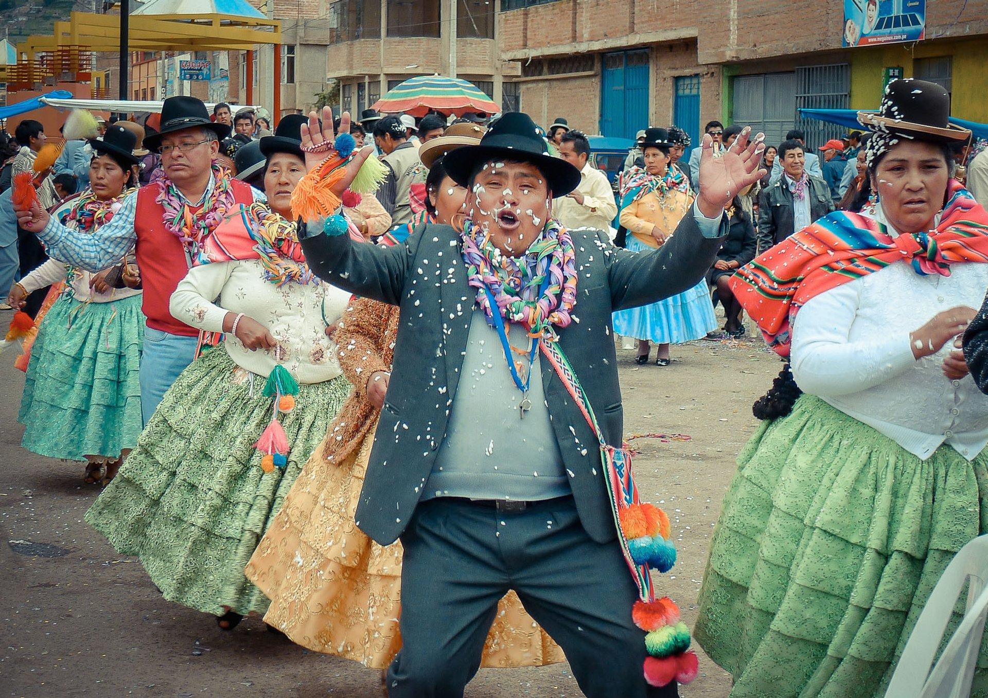 Fiesta de la Virgen de la Candelaria in Peru 2020 - Best Time