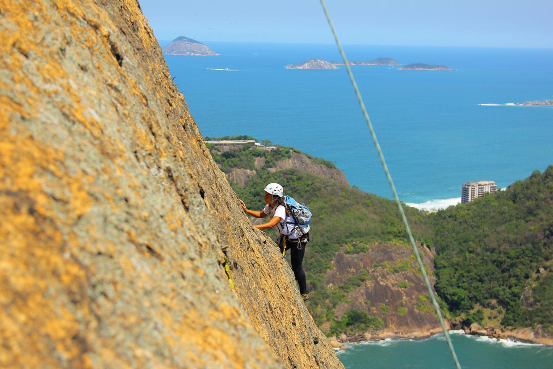 Rock Climbing in Rio de Janeiro 2019 - Best Time