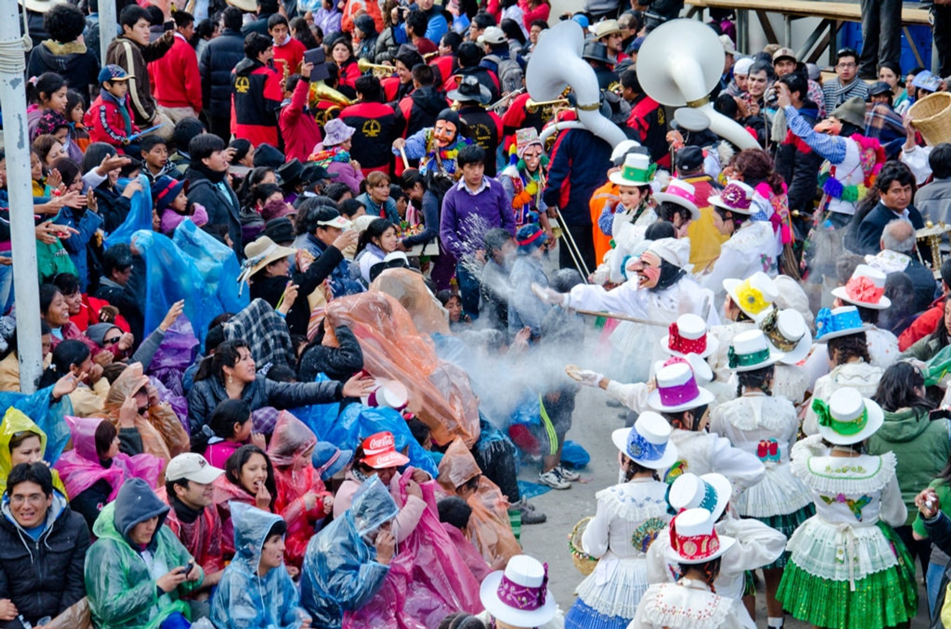 Best time to see Paucartambo Festival in Peru 2019
