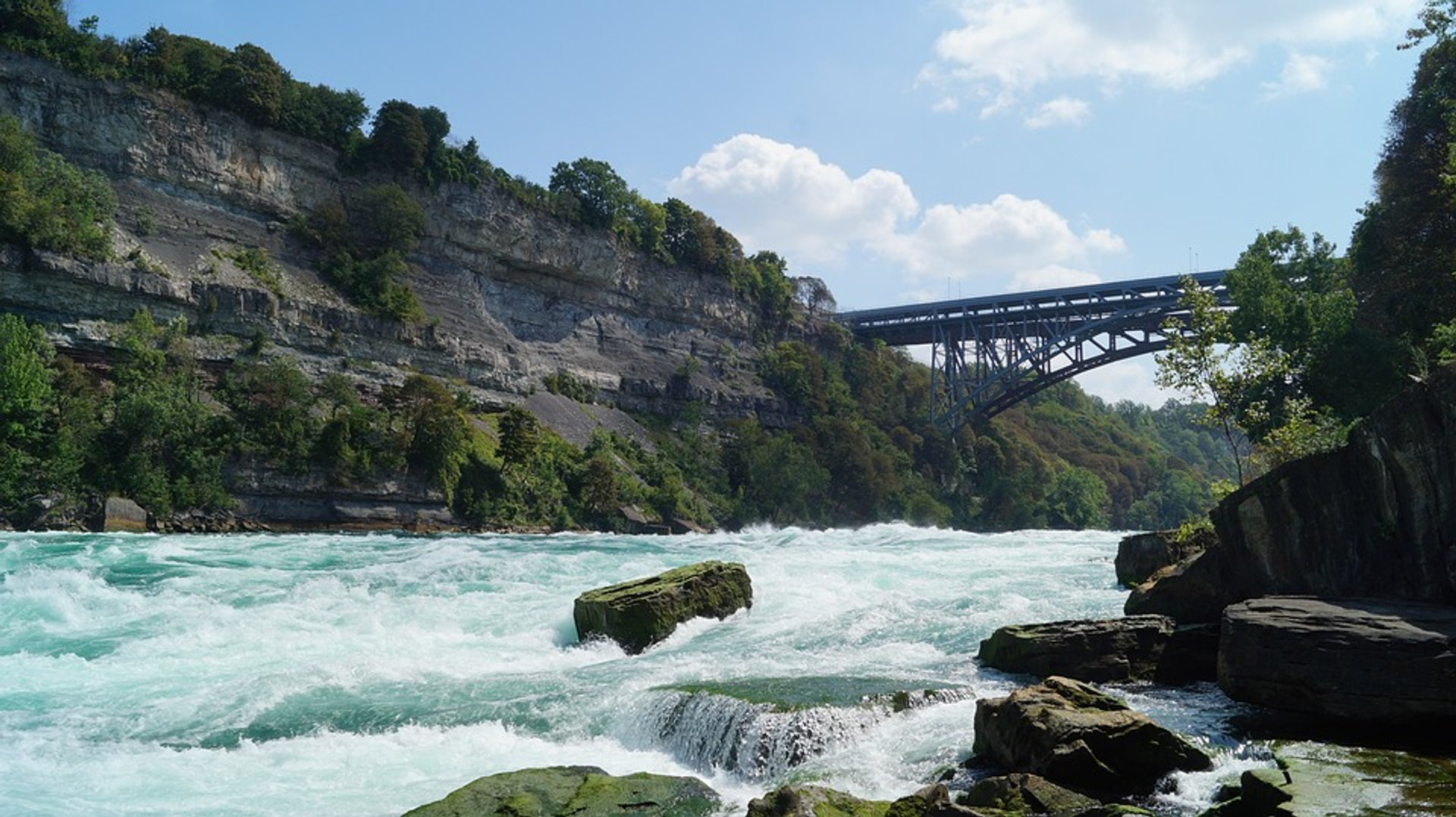 White Water Walk in Niagara Falls - Best Season 2019