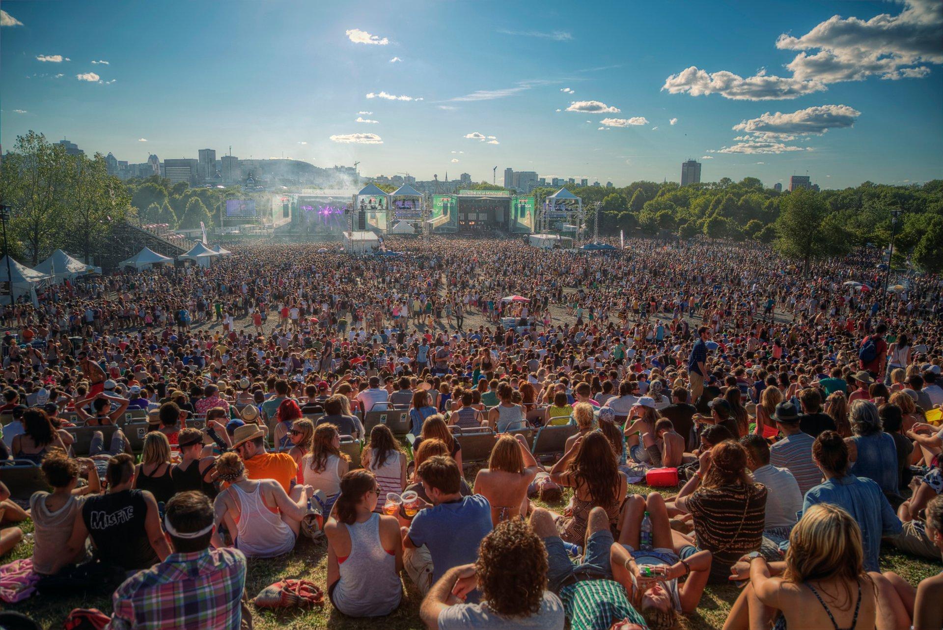 Osheaga Music Festival in Quebec 2020 - Best Time