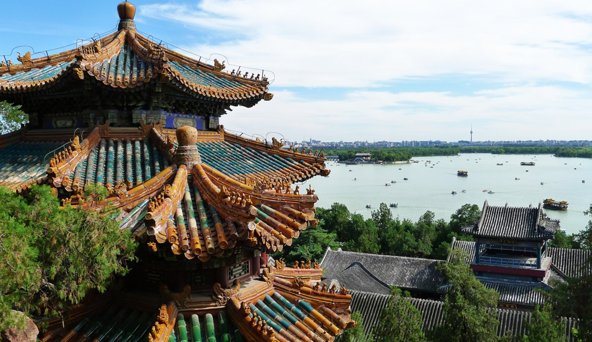 Summer Palace during summer 2020
