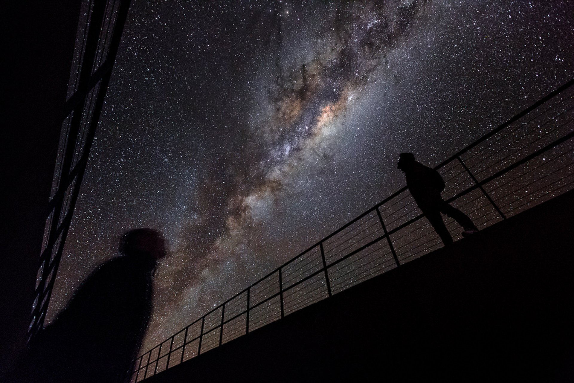 Under the Milky Way in the Chilean Atacama Desert 2020