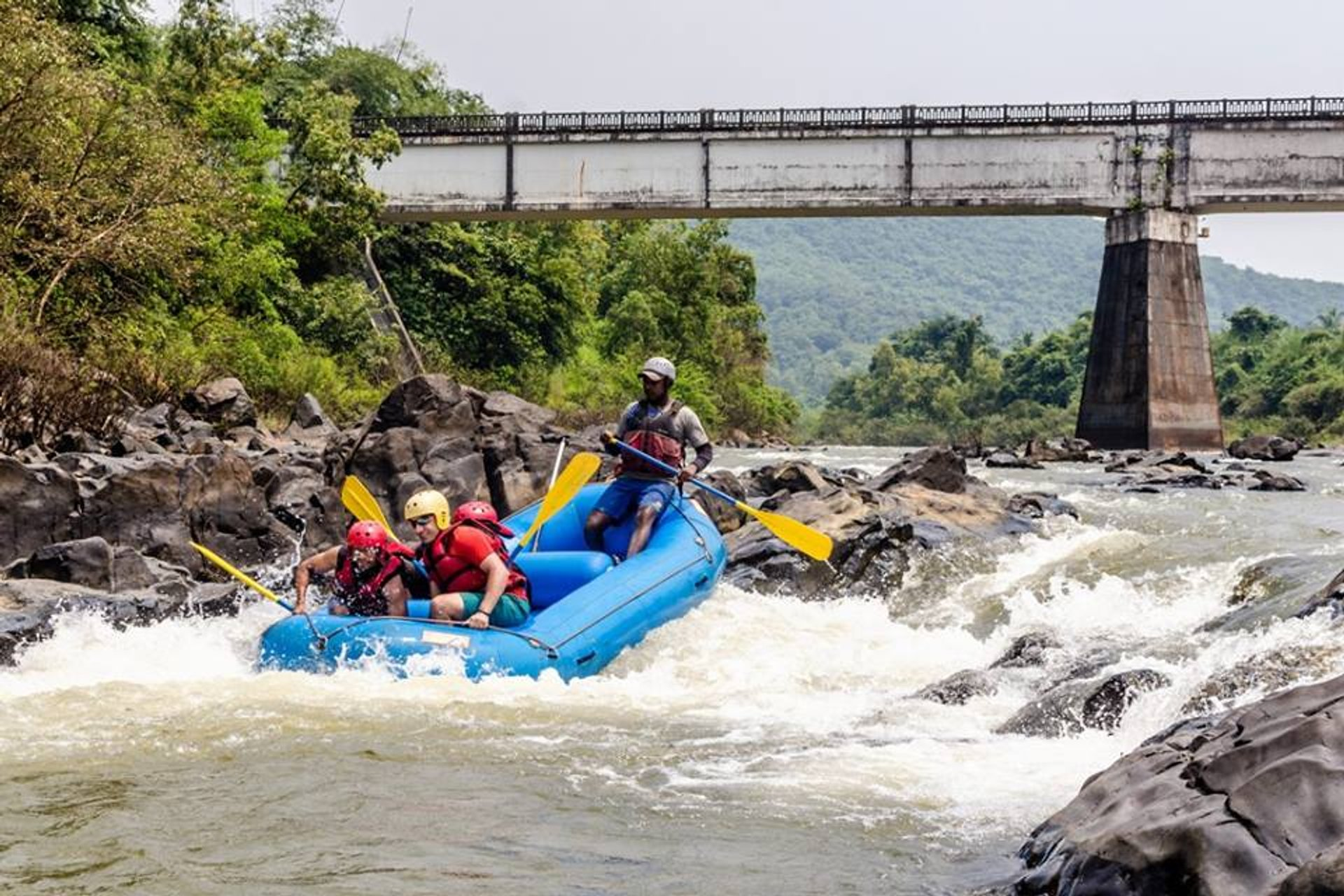 Rafting in Goa 2019 - Best Time