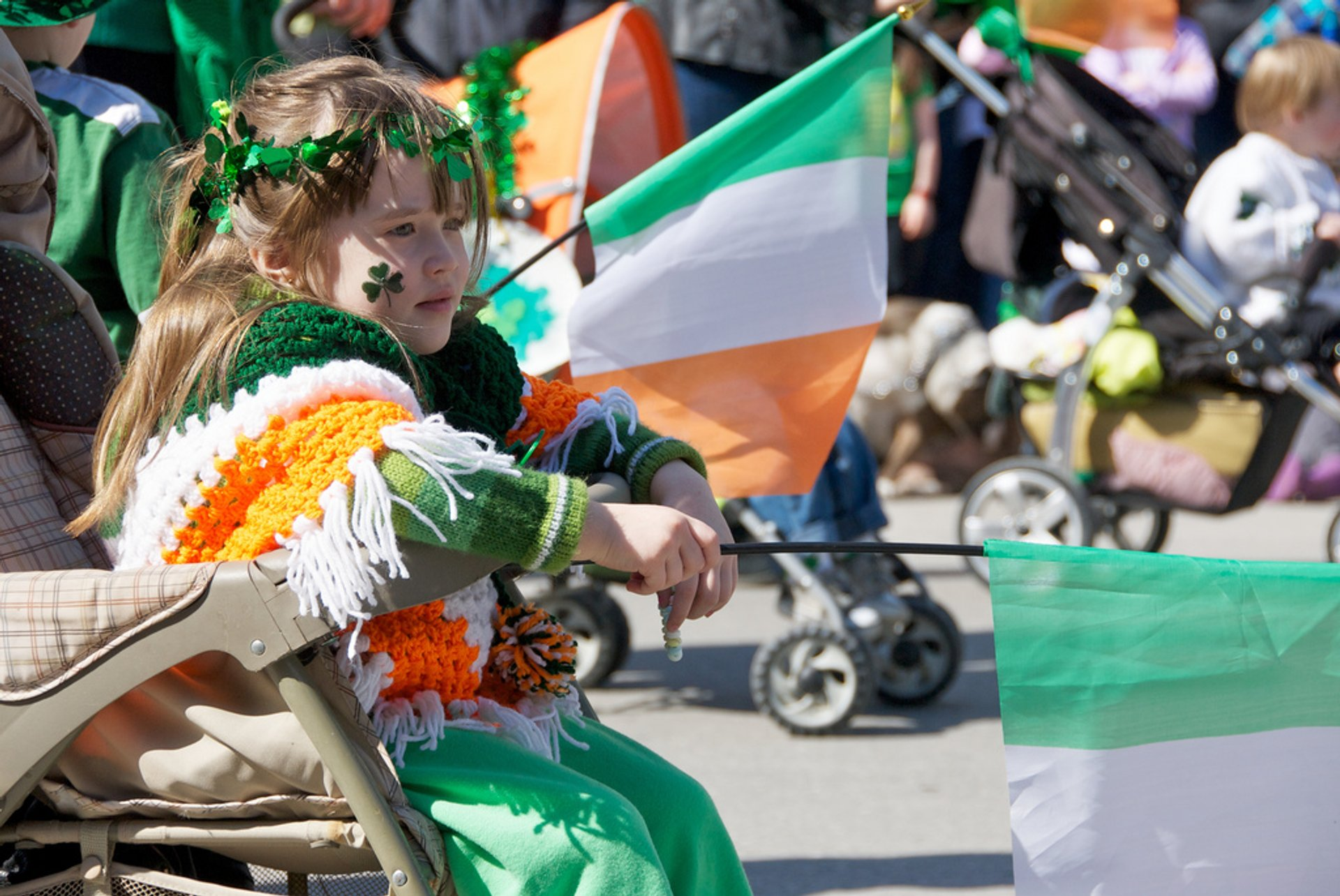 Best time for St. Patrick's Parade in Montreal 2020